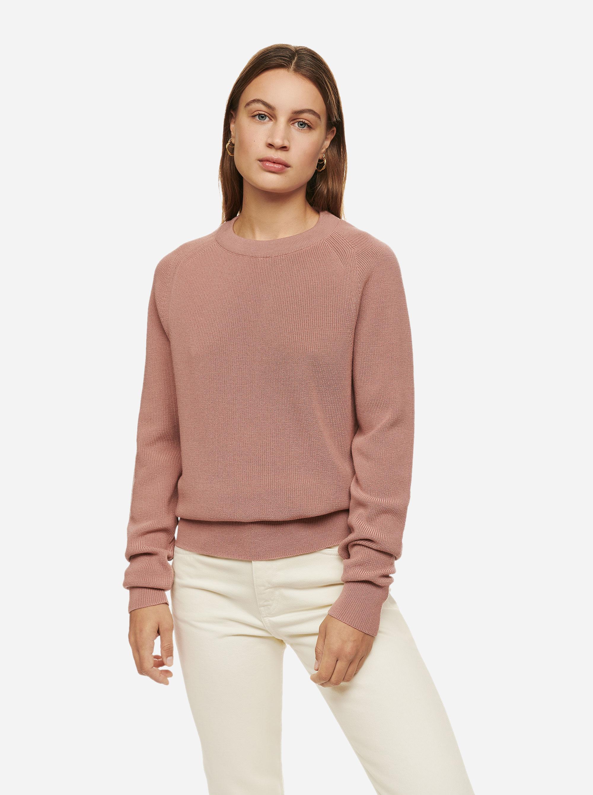 Teym - Crewneck - The Merino Sweater - Women - Pink - 1