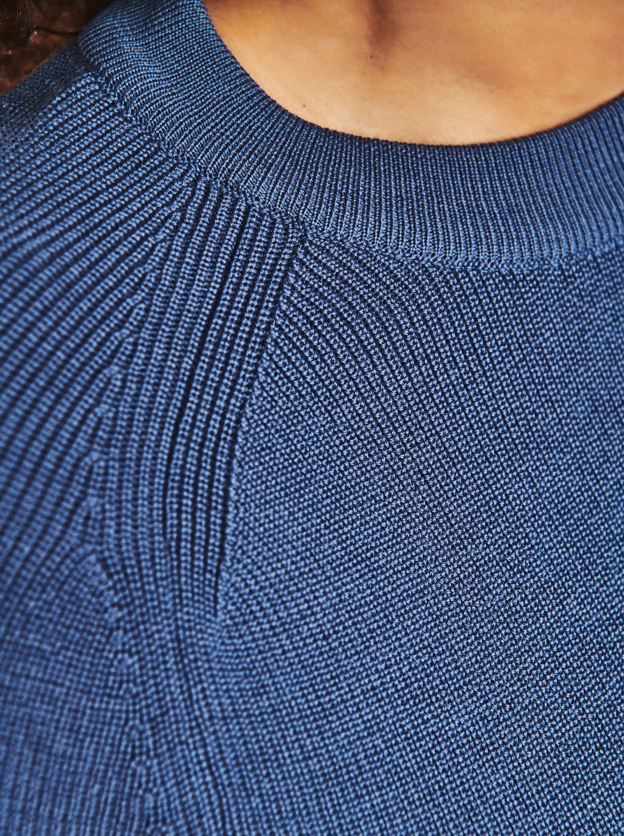 Teym - Crewneck - The Merino Sweater - Women - Sky blue - 3