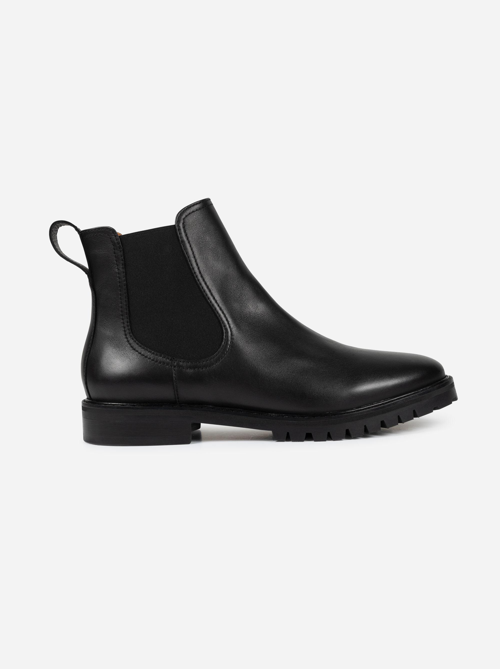 Teym - The Chelsea Boot - Black - 0