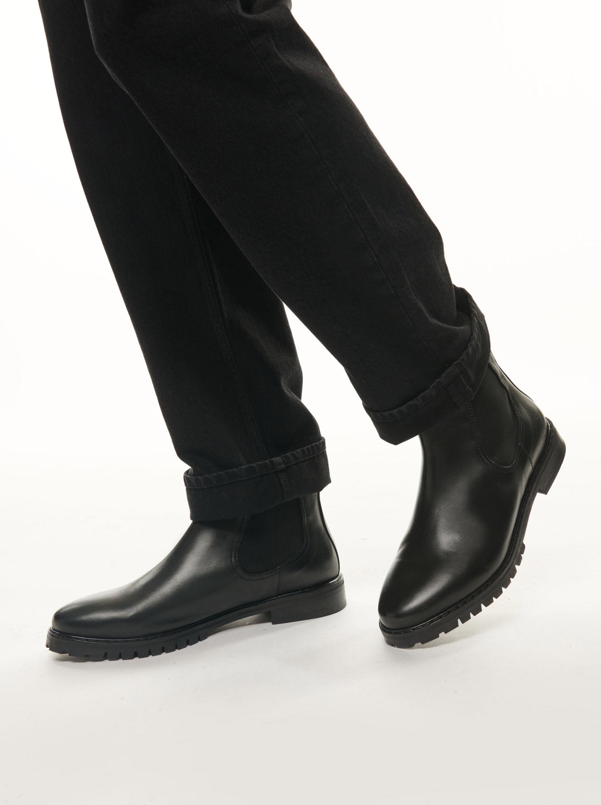 Teym - The Chelsea Boot - Black - 15