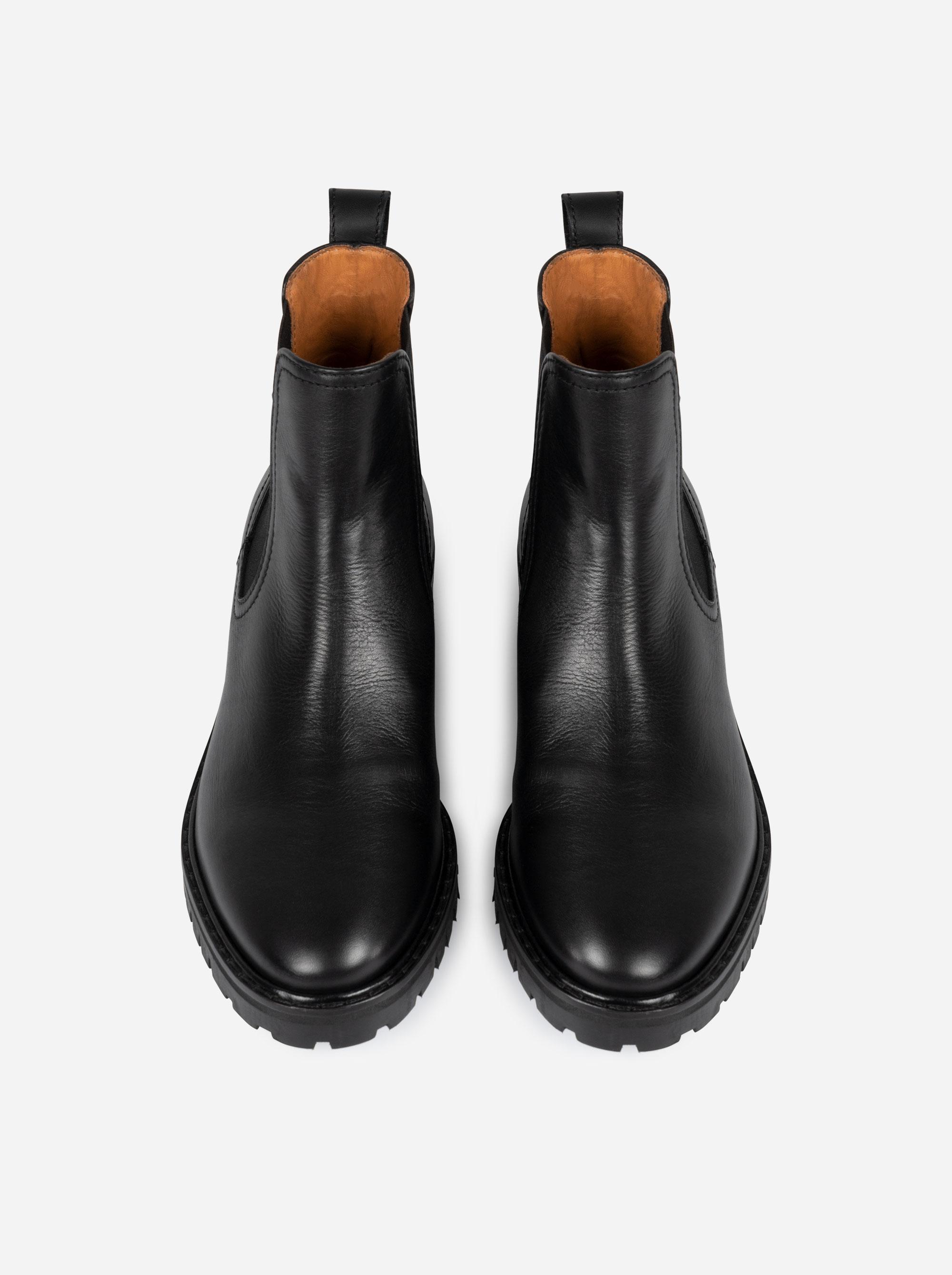 Teym - The Chelsea Boot - Black - 6