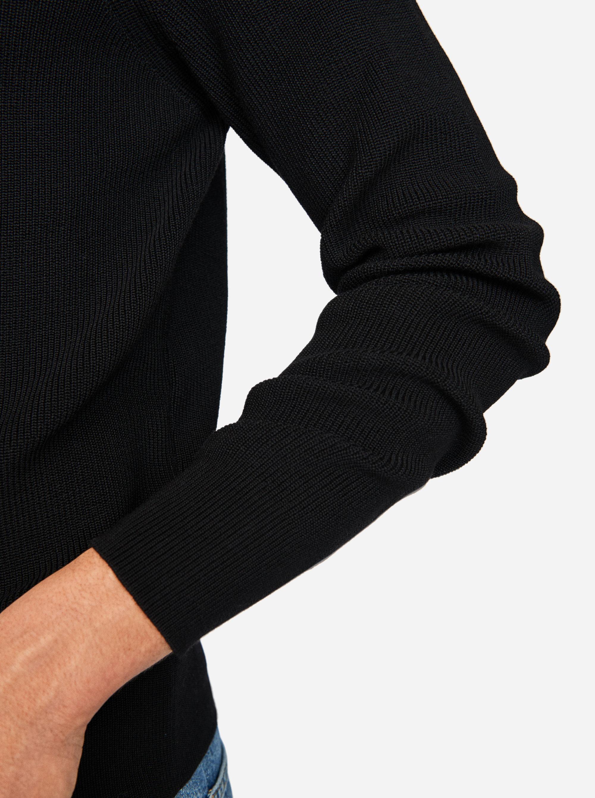 Teym - The Merino Sweater - Men - Black - 2