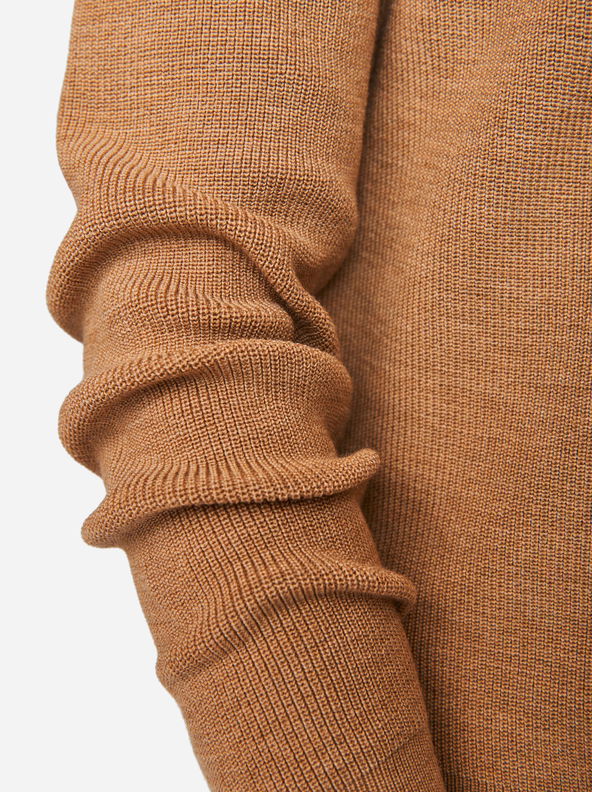 Teym - The Merino Sweater - Men - Camel - 2