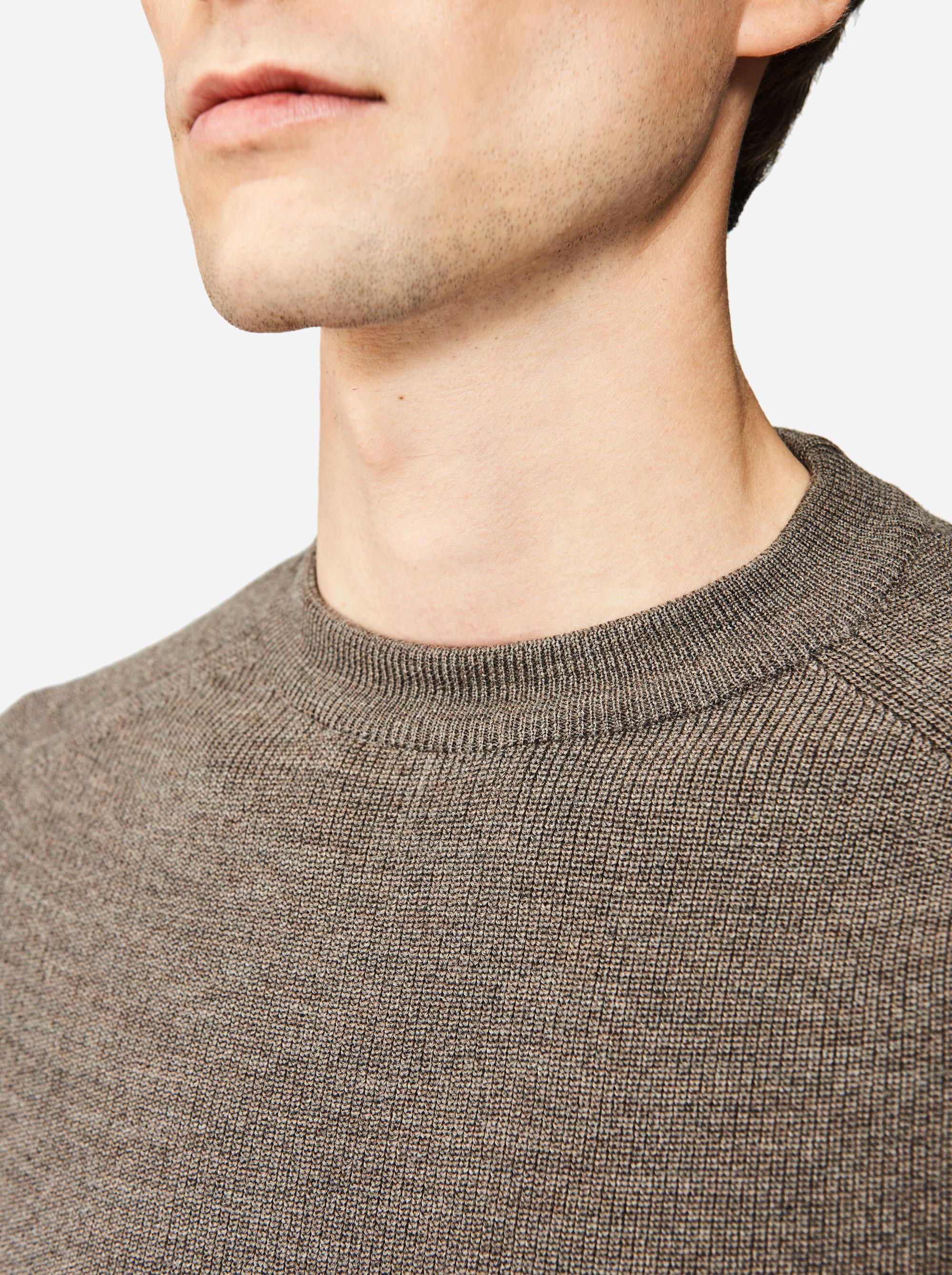 Teym - The Merino Sweater - Men - Grey - 3