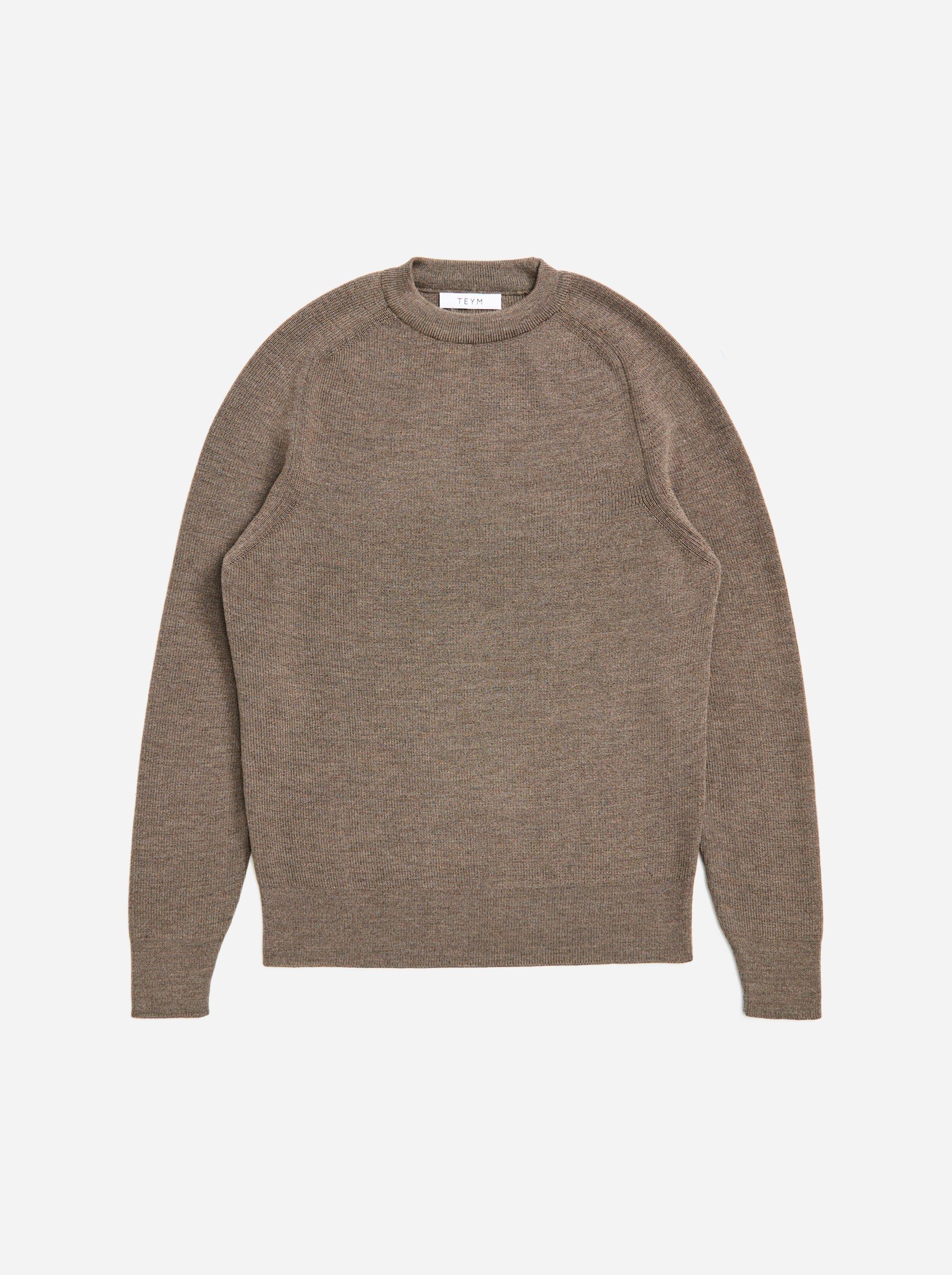 Teym - The Merino Sweater - Men - Grey - 4