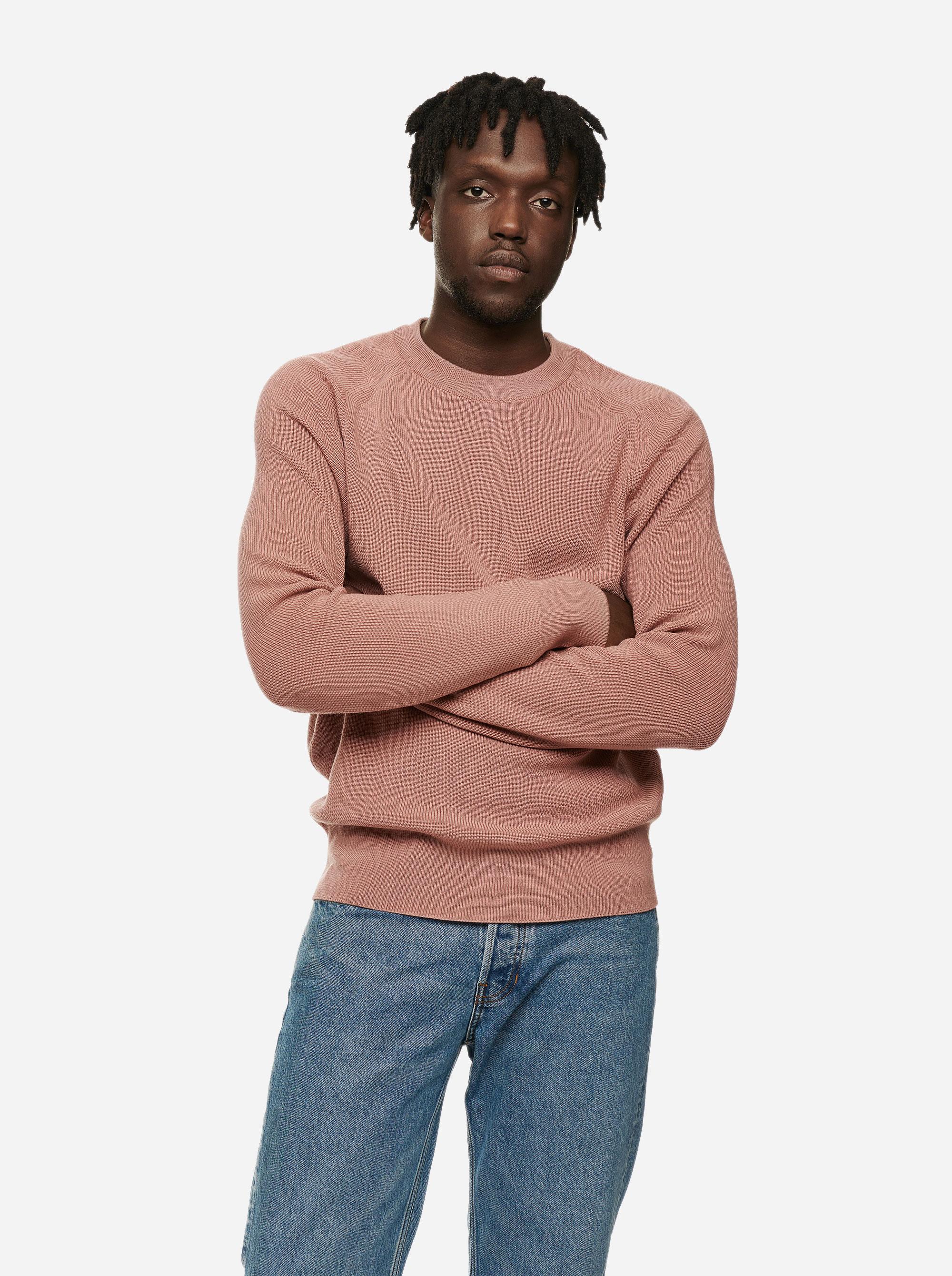 Teym - The Merino Sweater - Men - Pink - 1