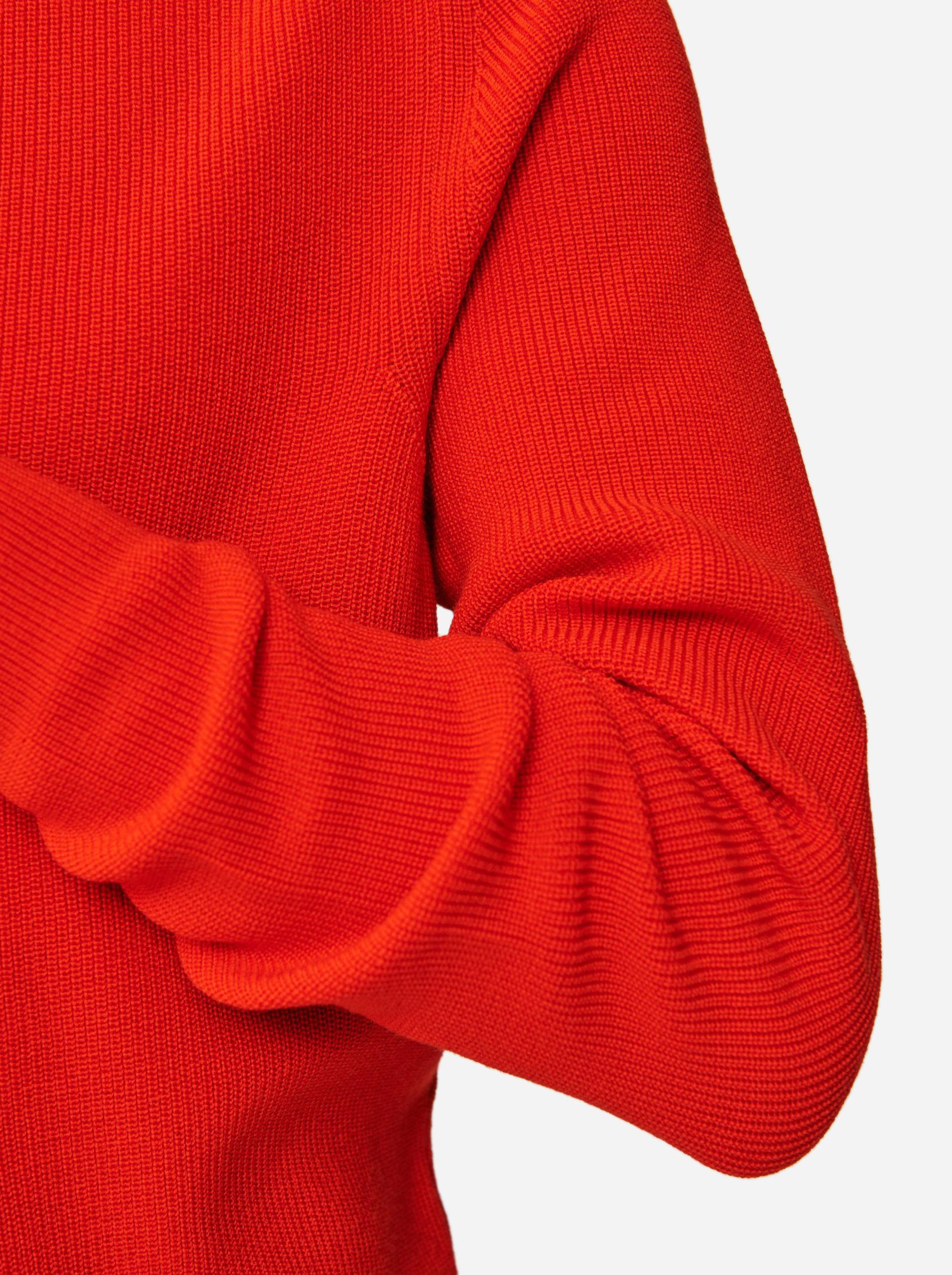 Teym - The Merino Sweater - Men - Red - 4