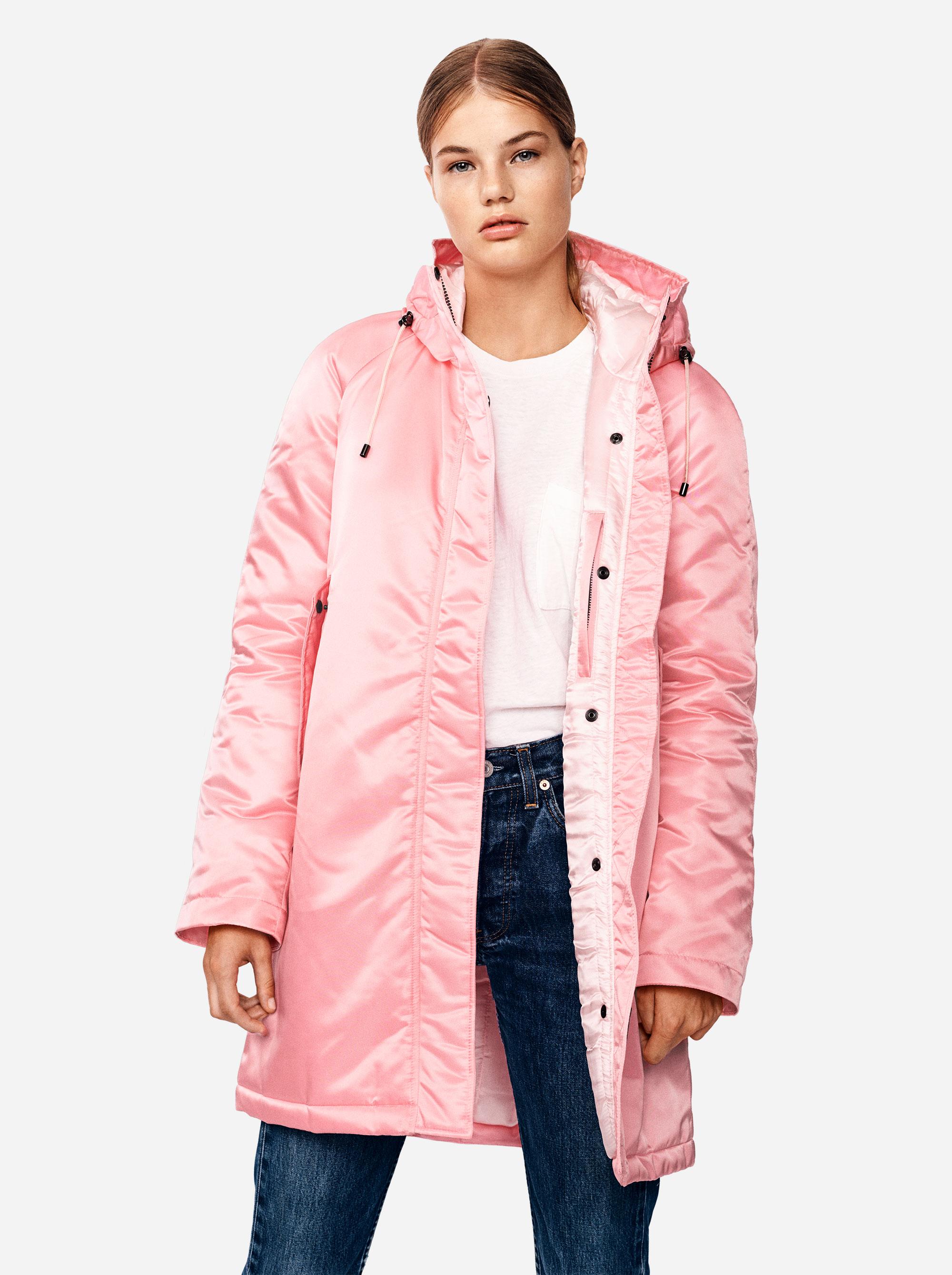 Teym - The Parka - Women - Pink - 1