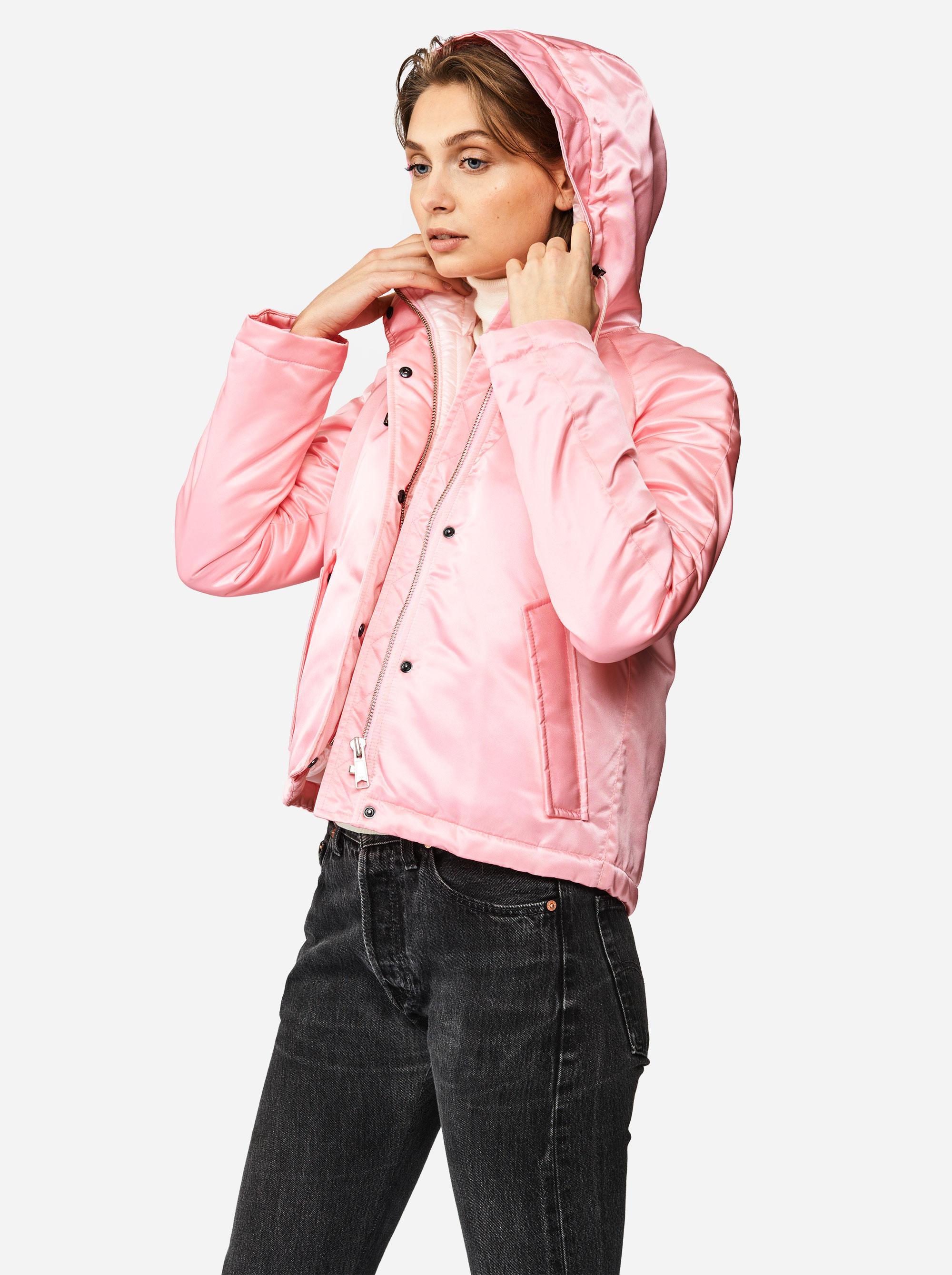Teym - The Parka - Women - Pink - Short - 1