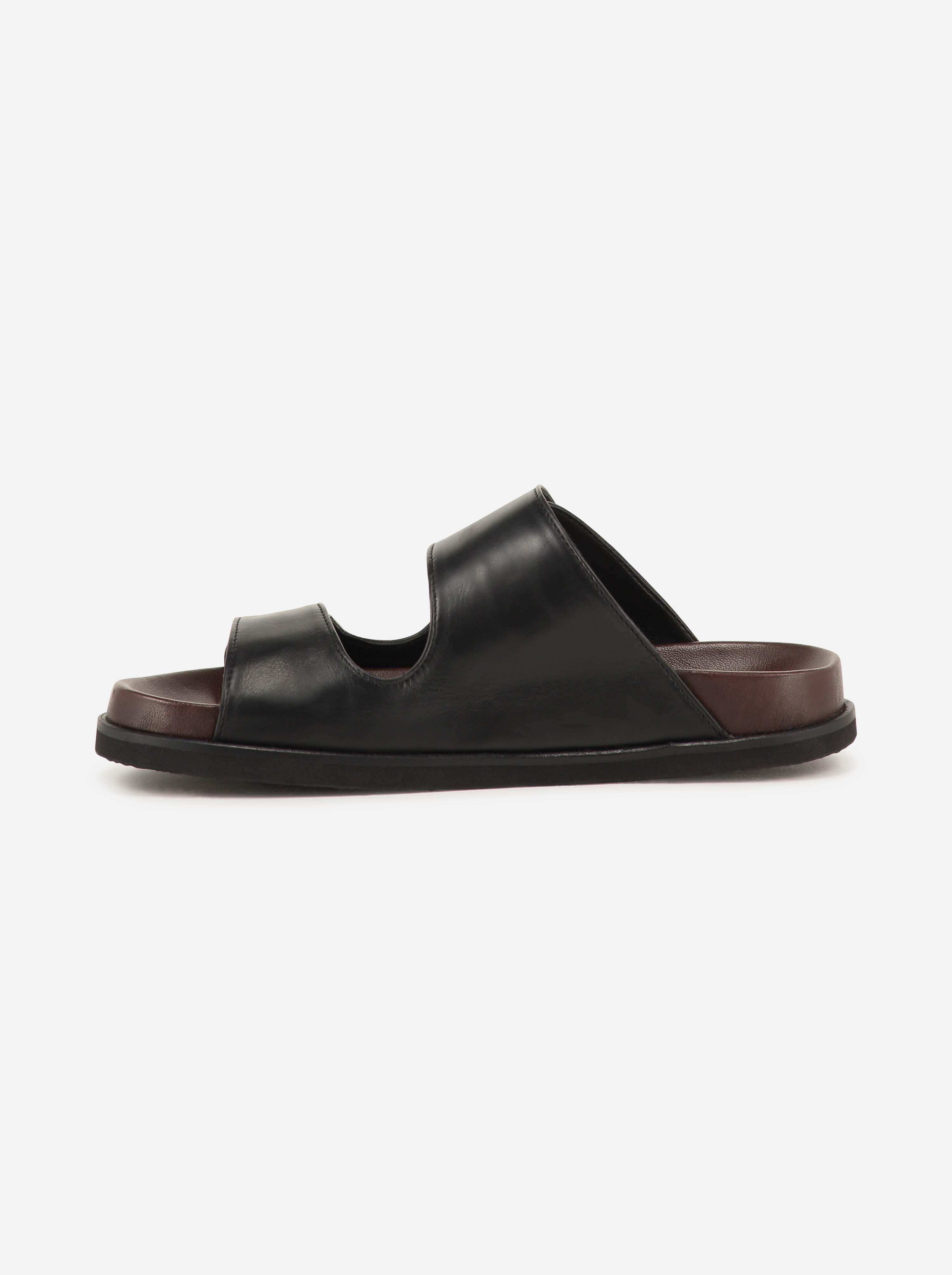 Teym - The Sandal - Black - 3
