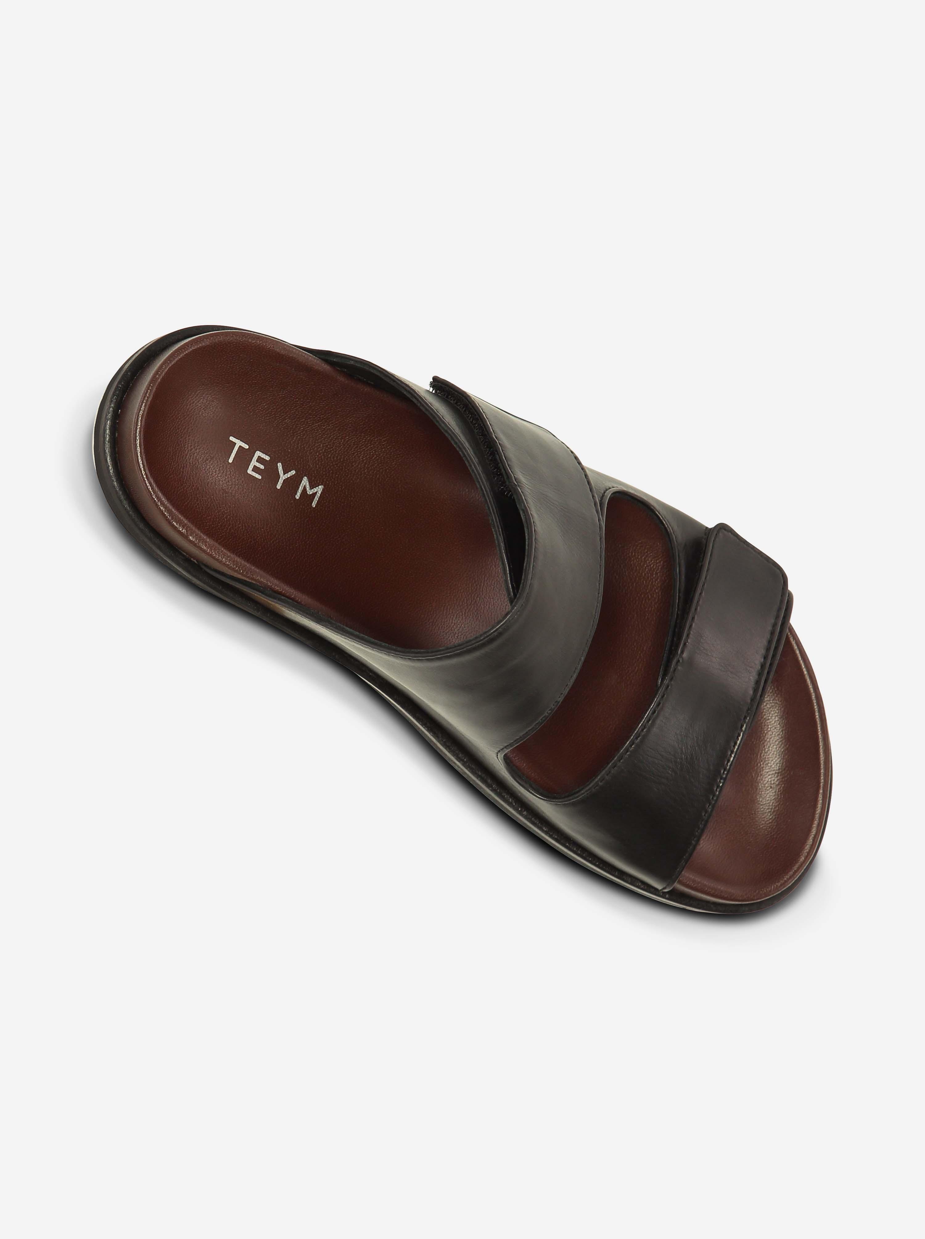 Teym - The Sandal - Black - 9