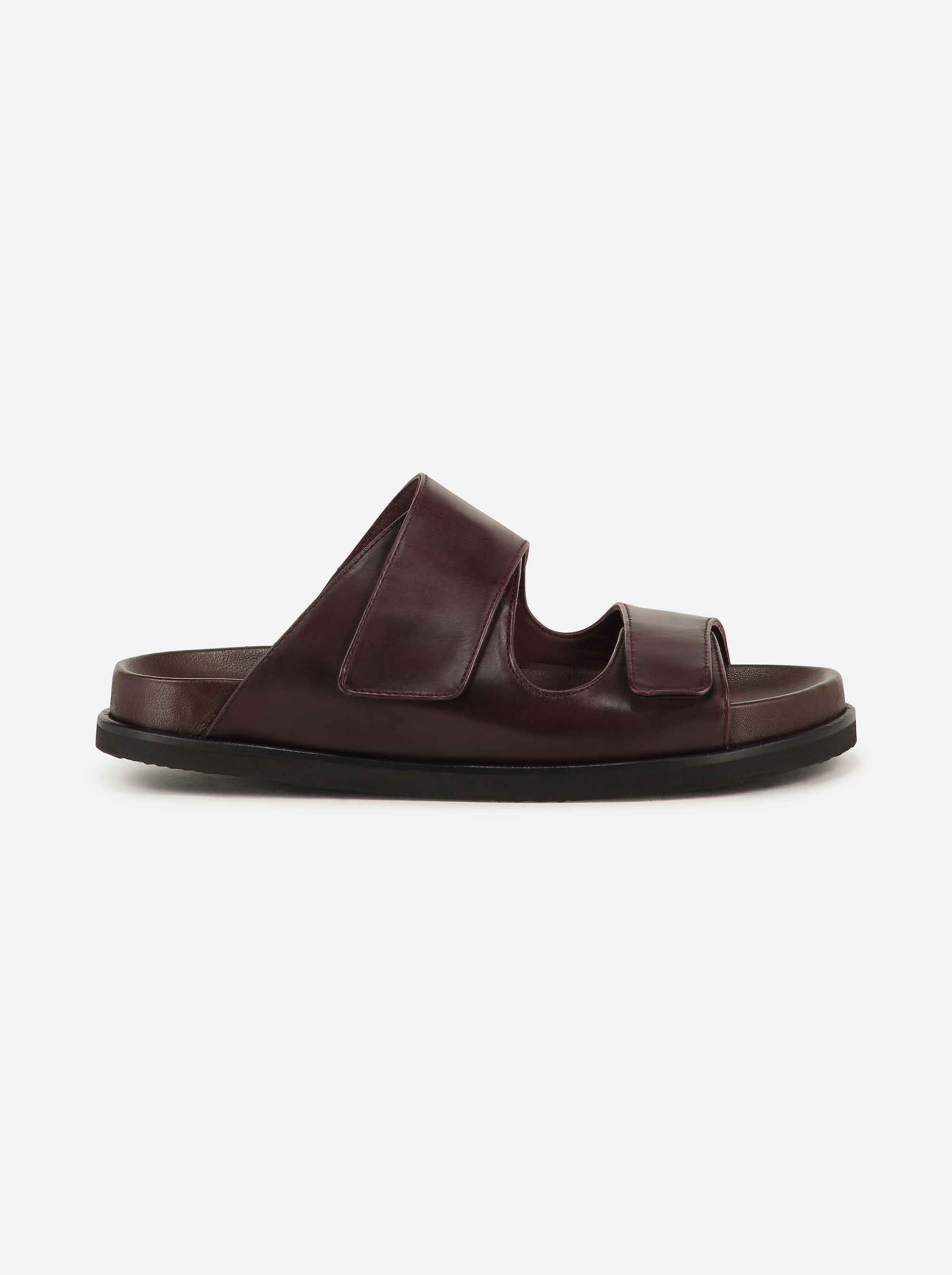 Teym - The Sandal - Burgundy - 1b