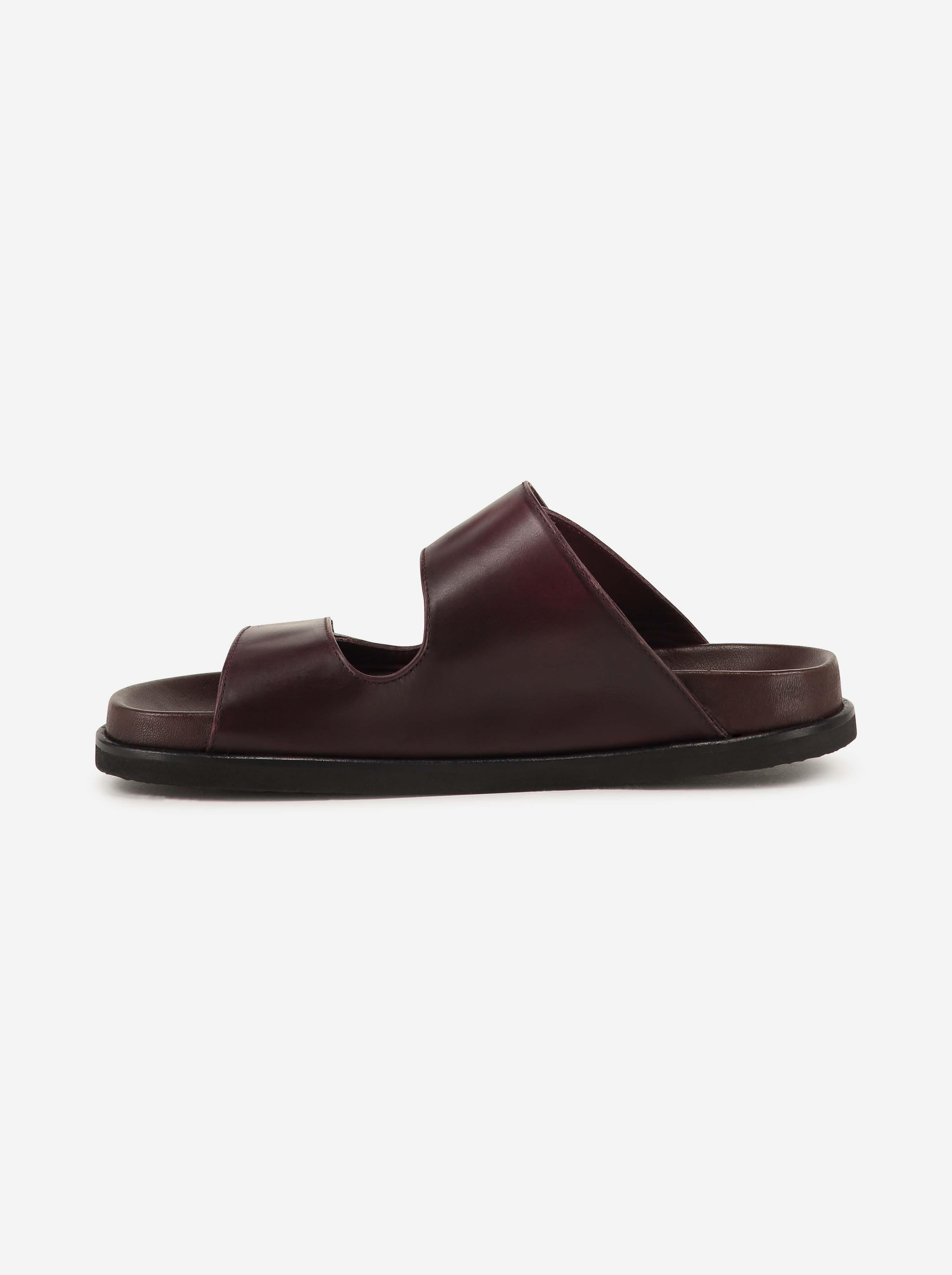 Teym - The Sandal - Burgundy - 2