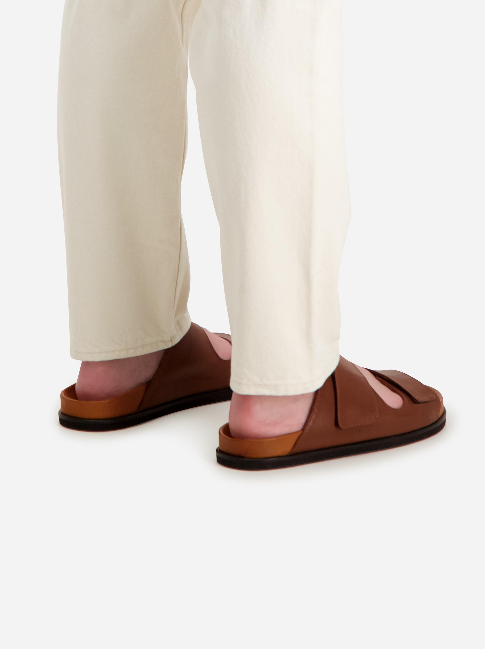 Teym - The Sandal - Men - Brown - 2