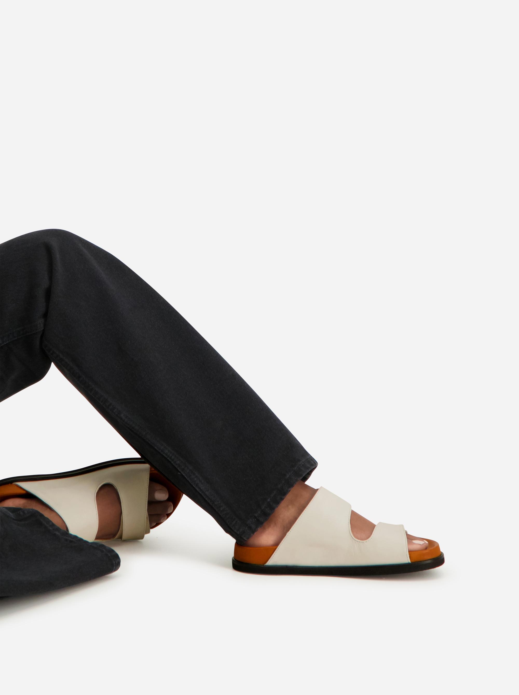 Teym - The Sandal - White - Women - 2