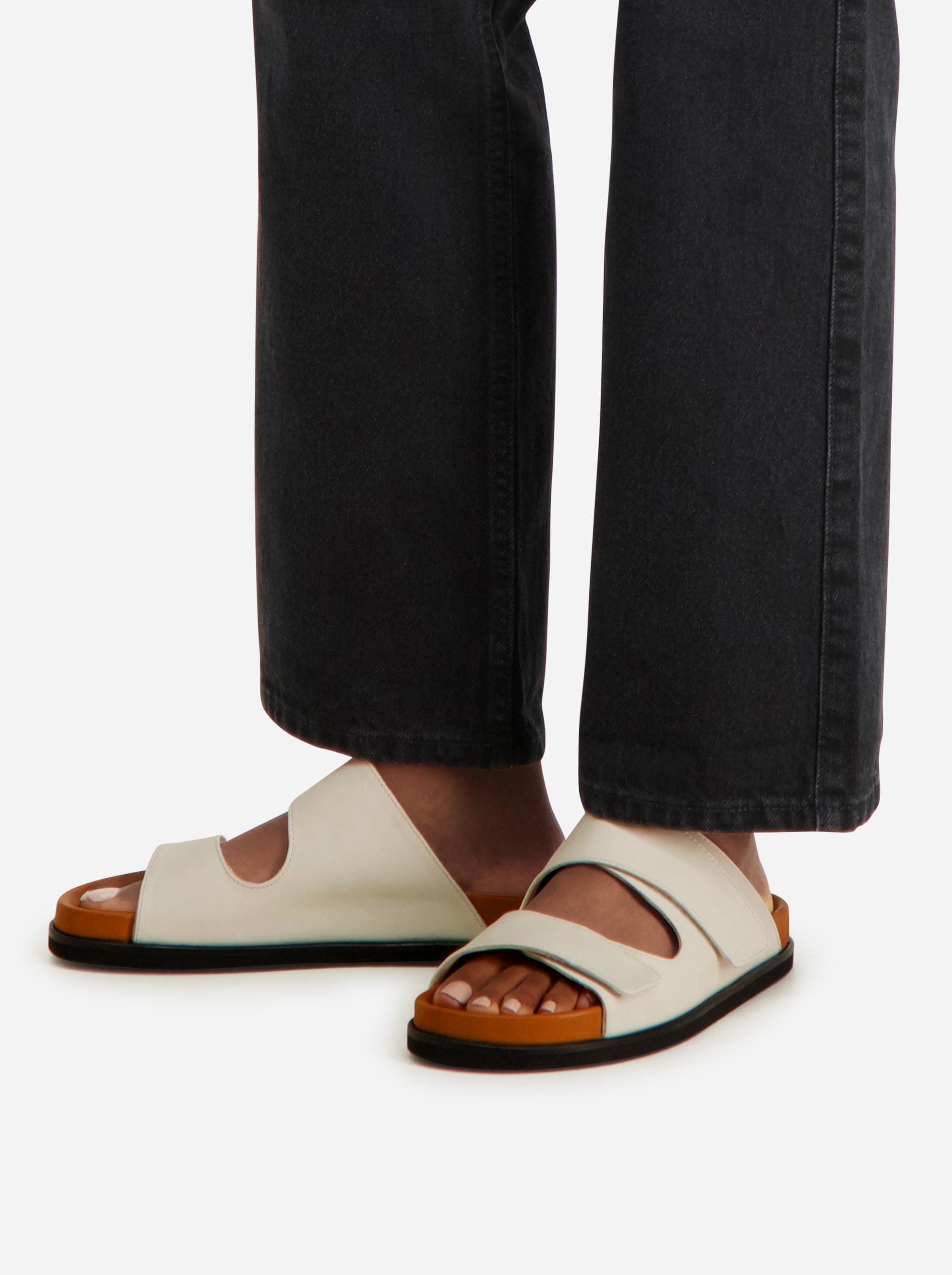 Teym - The Sandal - White - Women - 4
