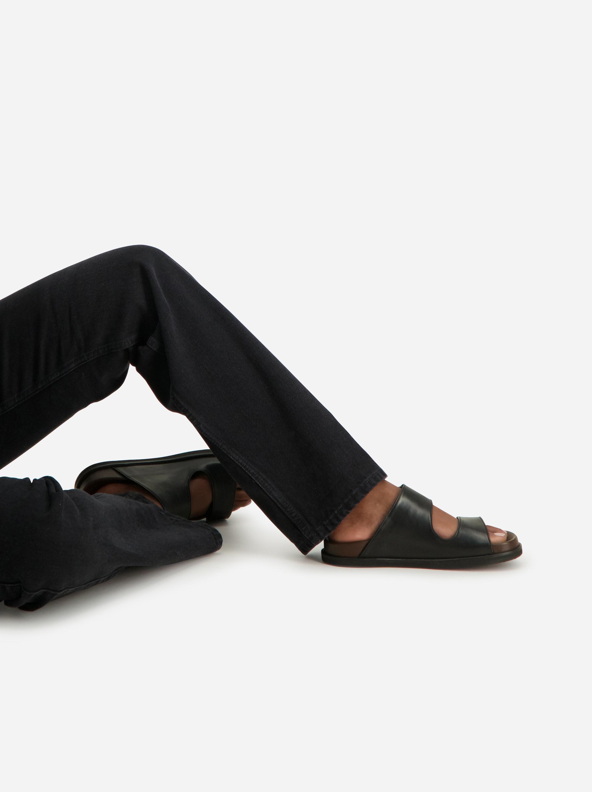 Teym - The Sandal - Women - Black - 2