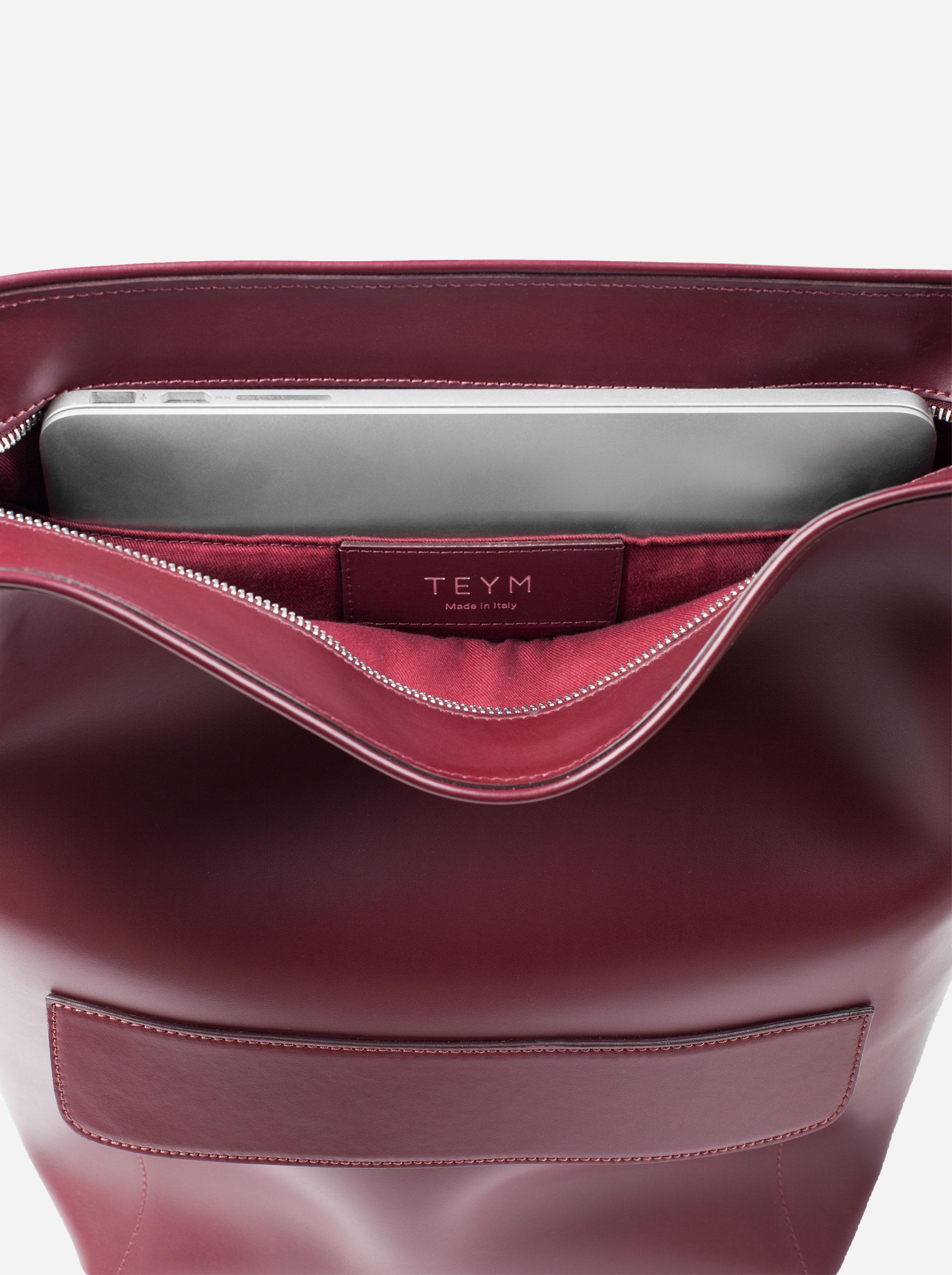 Teym - The Shoulder Bag - Burgundy - 2