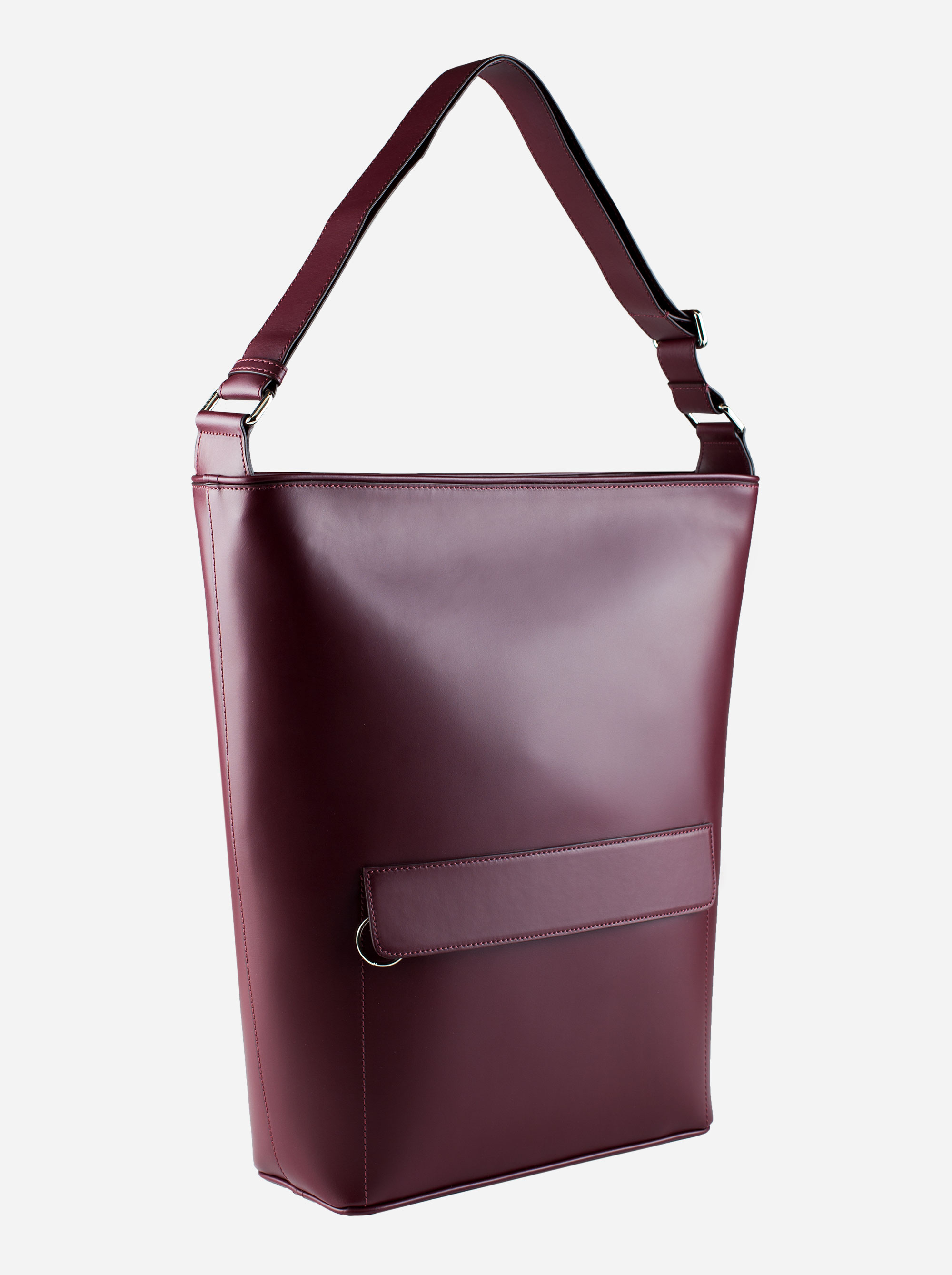 Teym - The Shoulder Bag - Burgundy - 3