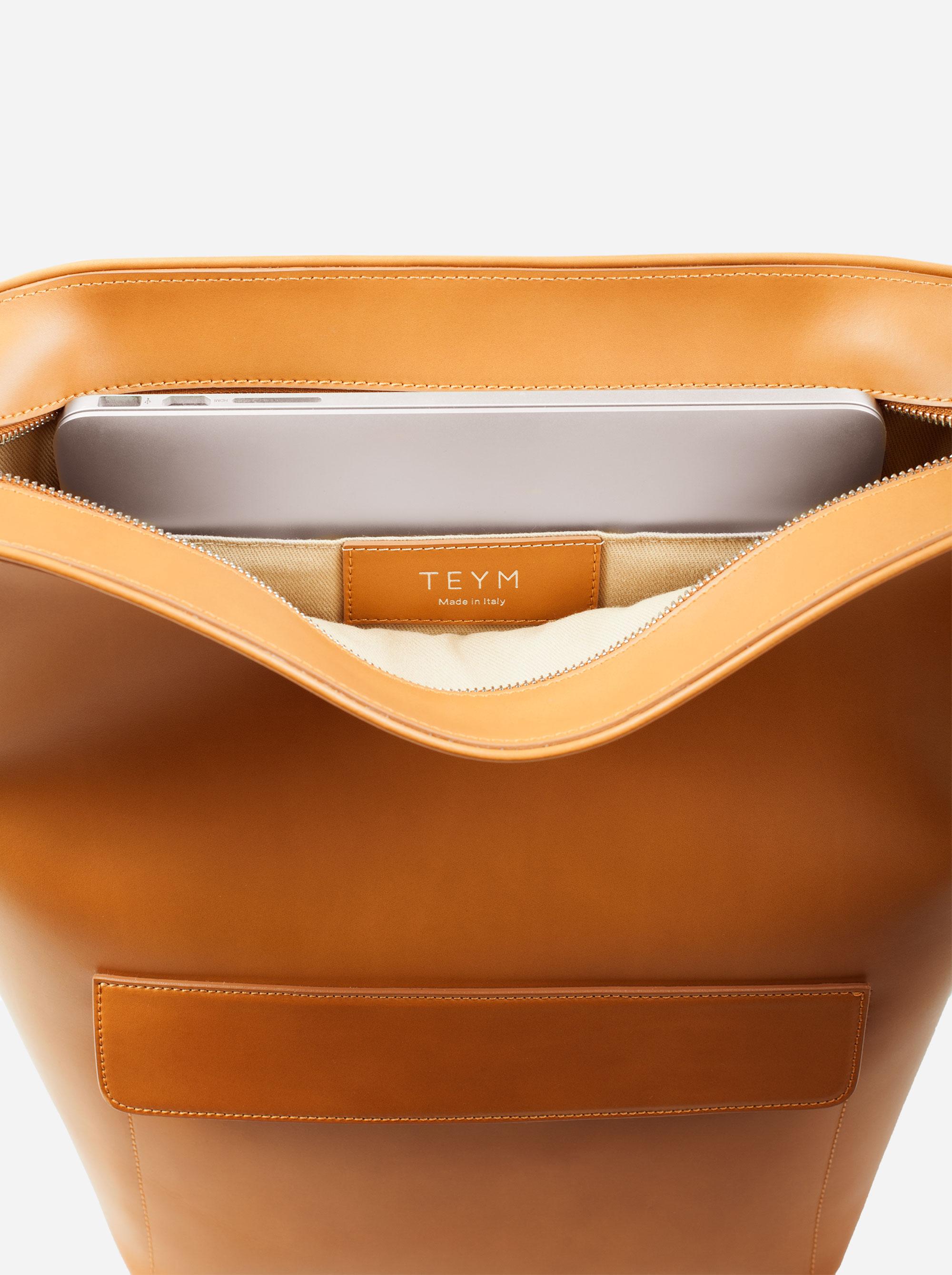 Teym - The Shoulder Bag - Camel - 4