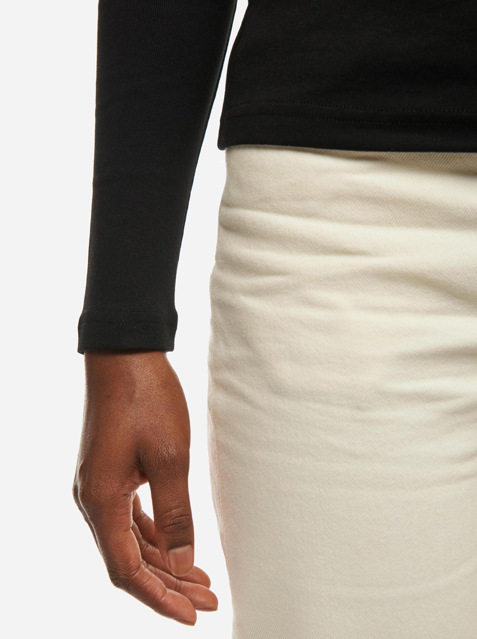 Teym - The-T-Shirt - Longsleeve - Women - Black - 1