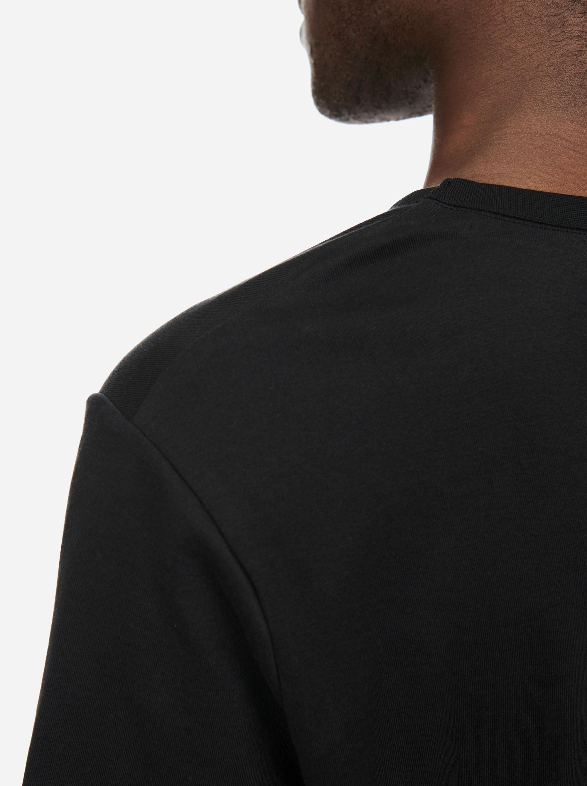 Teym - The T-Shirt - Men - Black - 1
