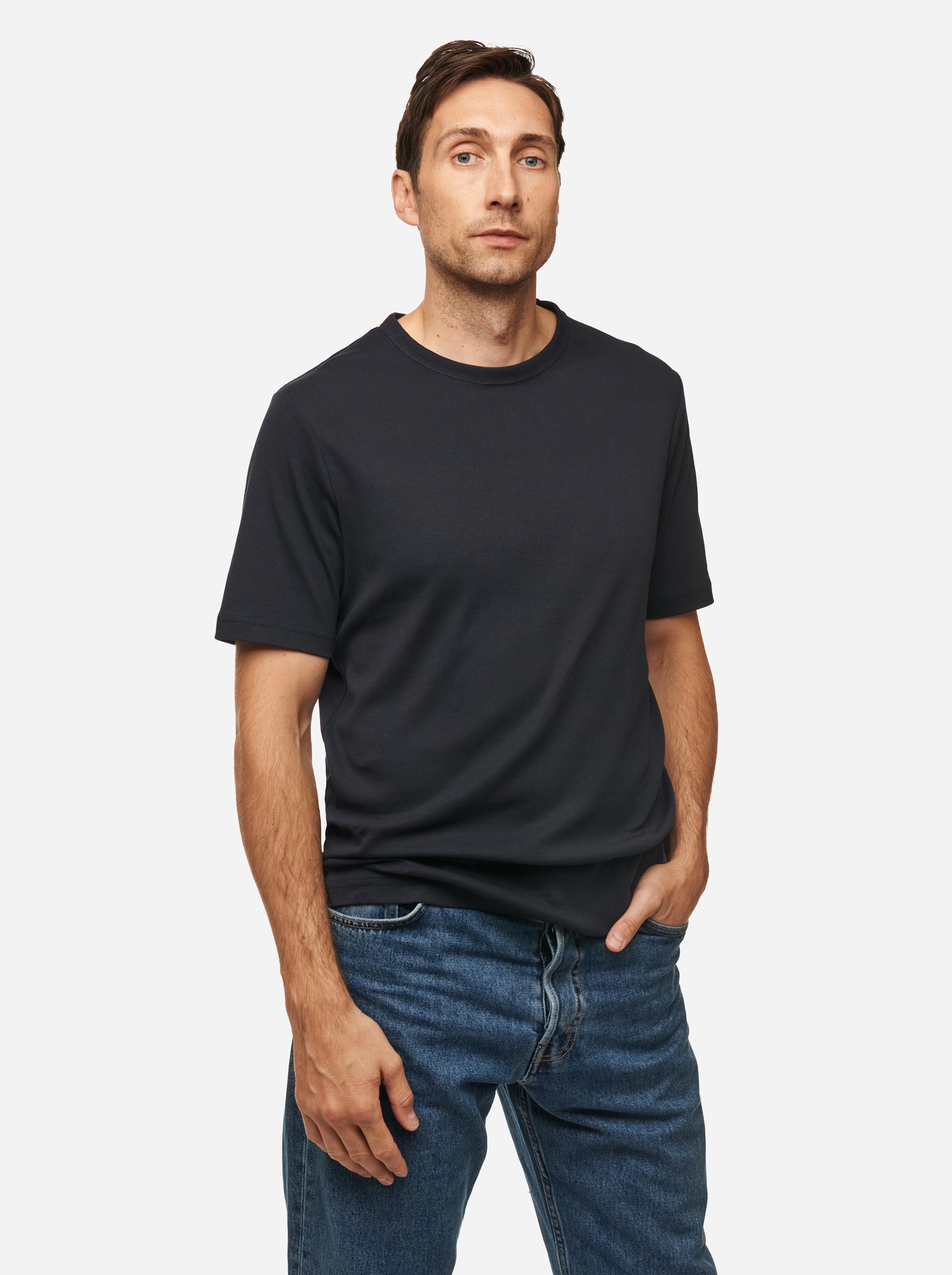 Teym - The T-Shirt - Men - Blue - 2