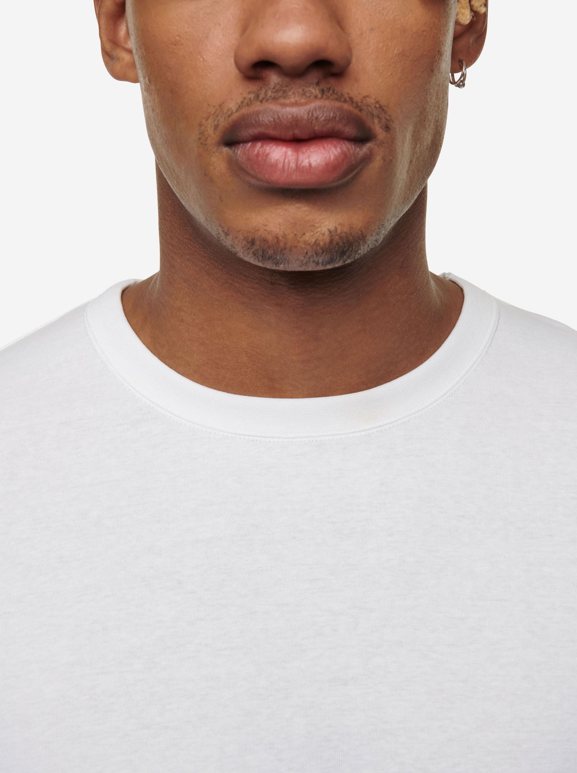 Teym - The-T-Shirt - Men - White - 10