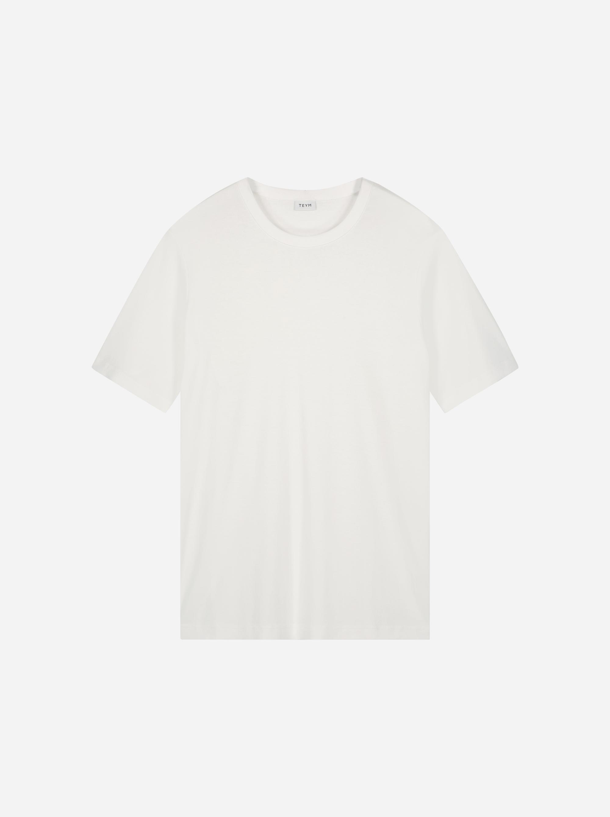 Teym - The-T-Shirt - Men - White - 5