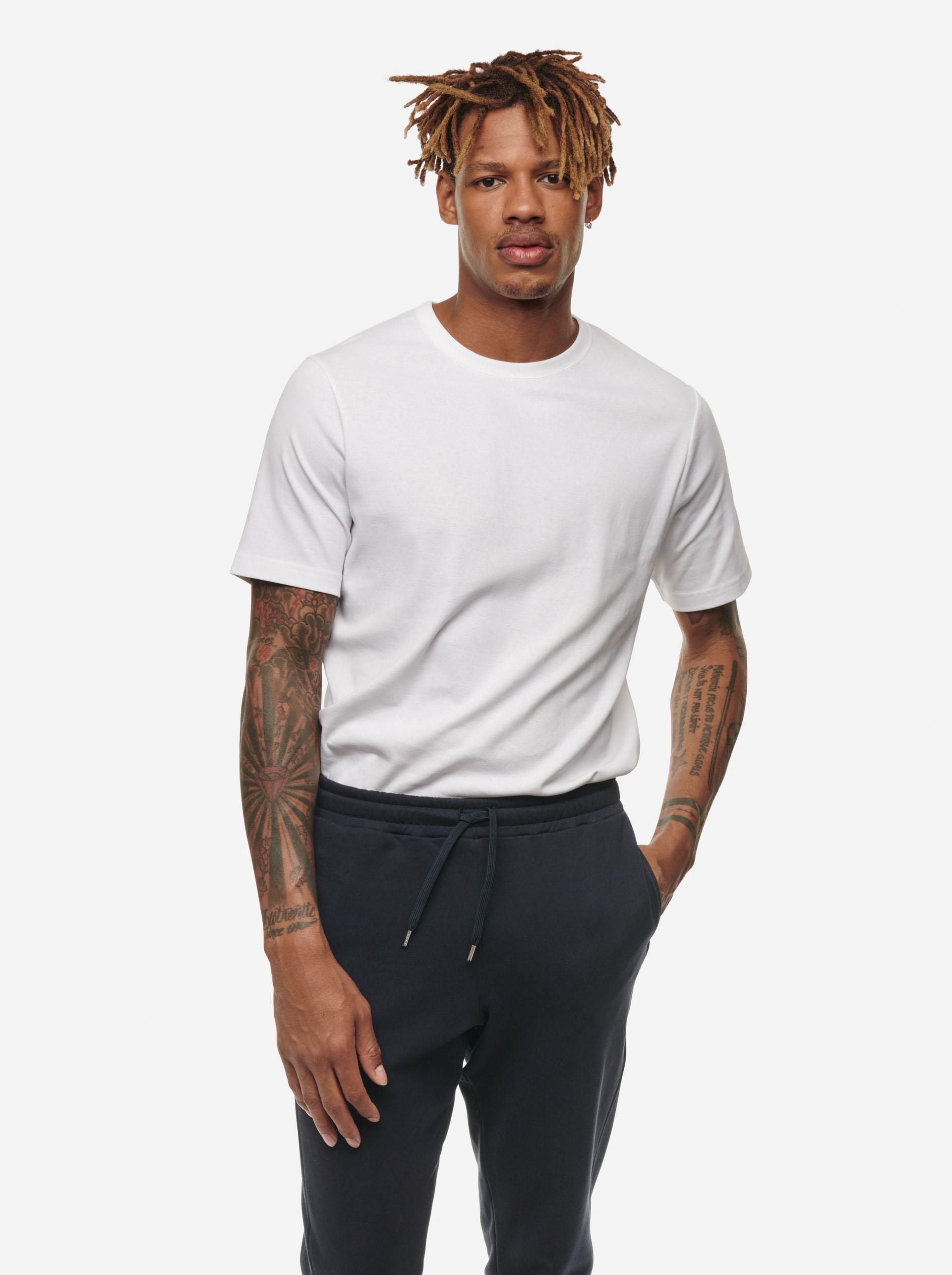Teym - The-T-Shirt - Men - White - 9