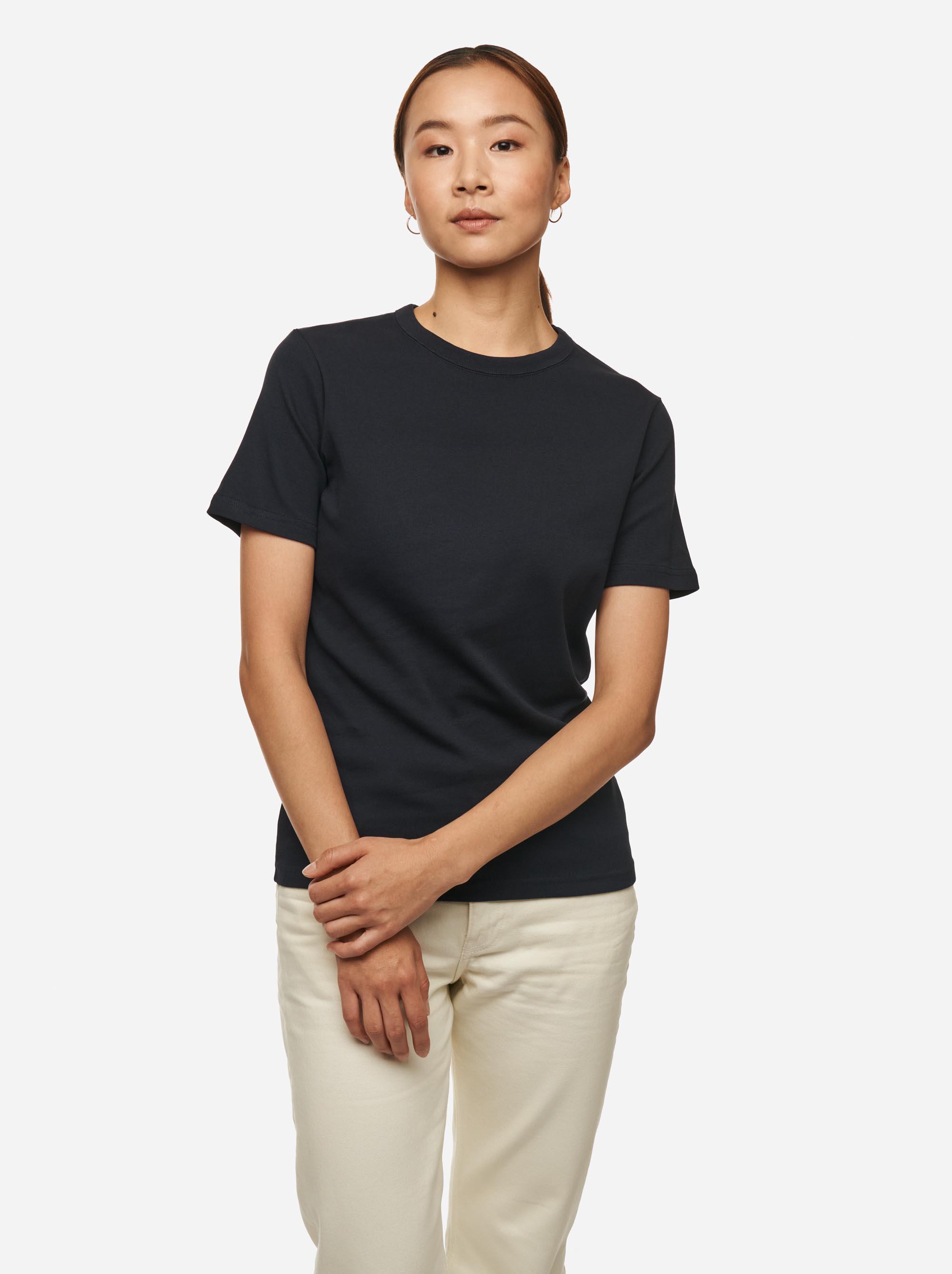 Teym - The T-Shirt - Women - Blue - 1