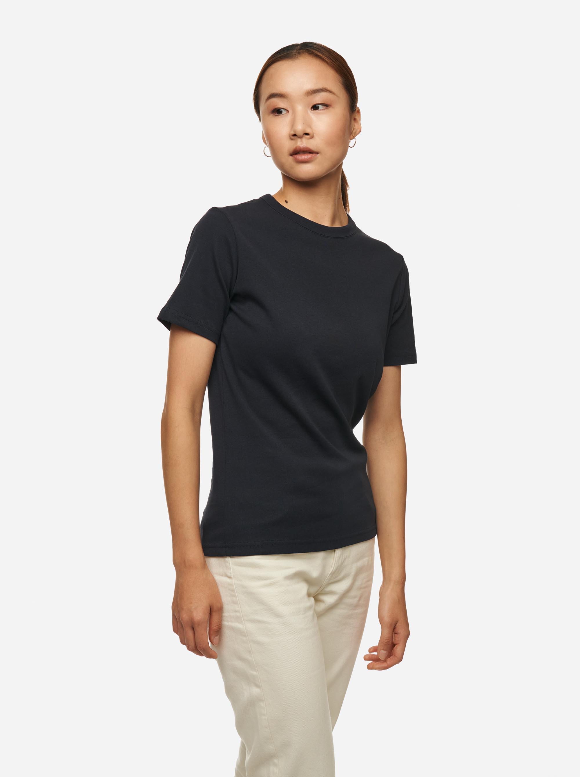 Teym - The T-Shirt - Women - Blue - 2