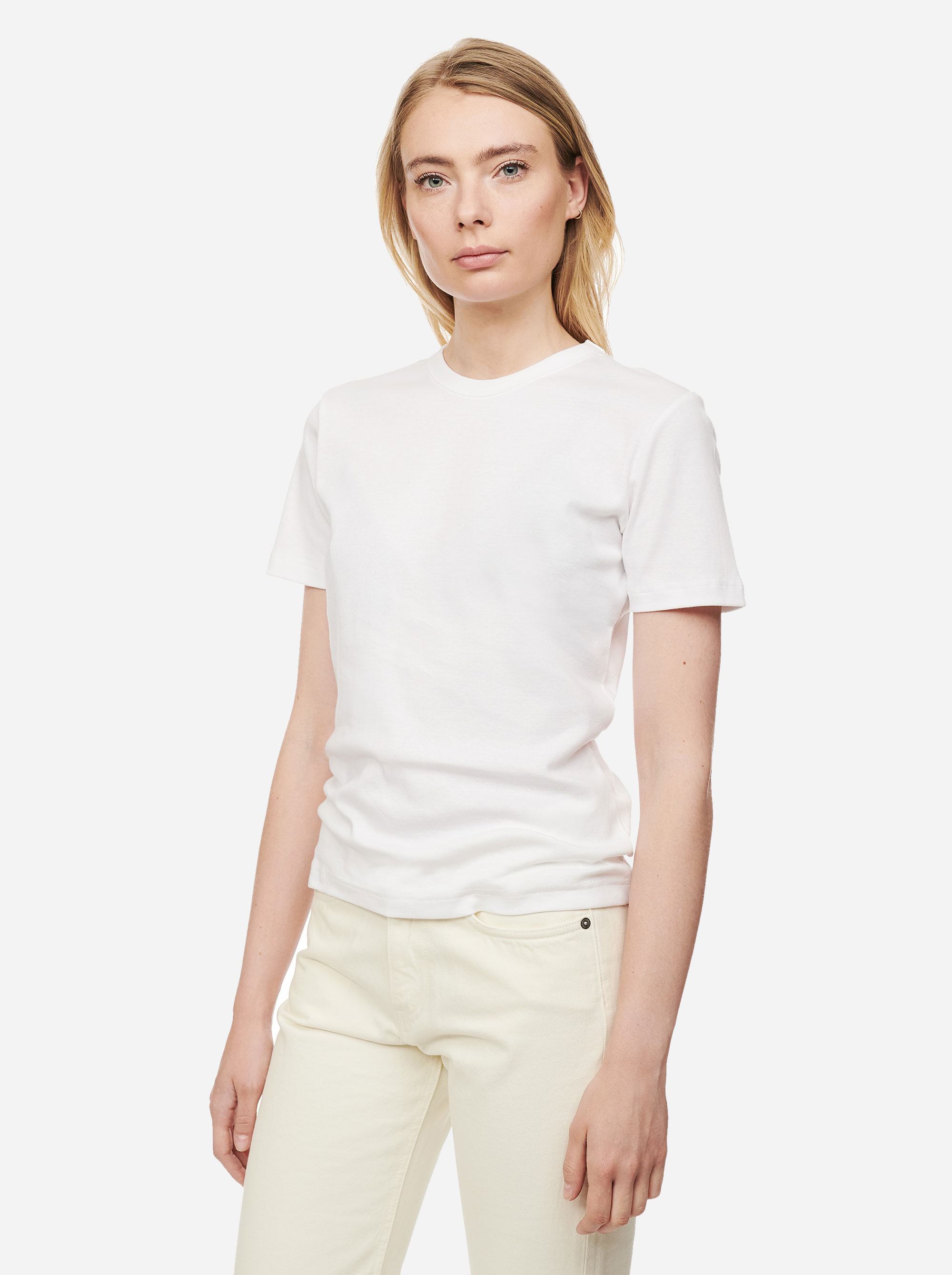 Teym - The T-Shirt - Women - White - 1