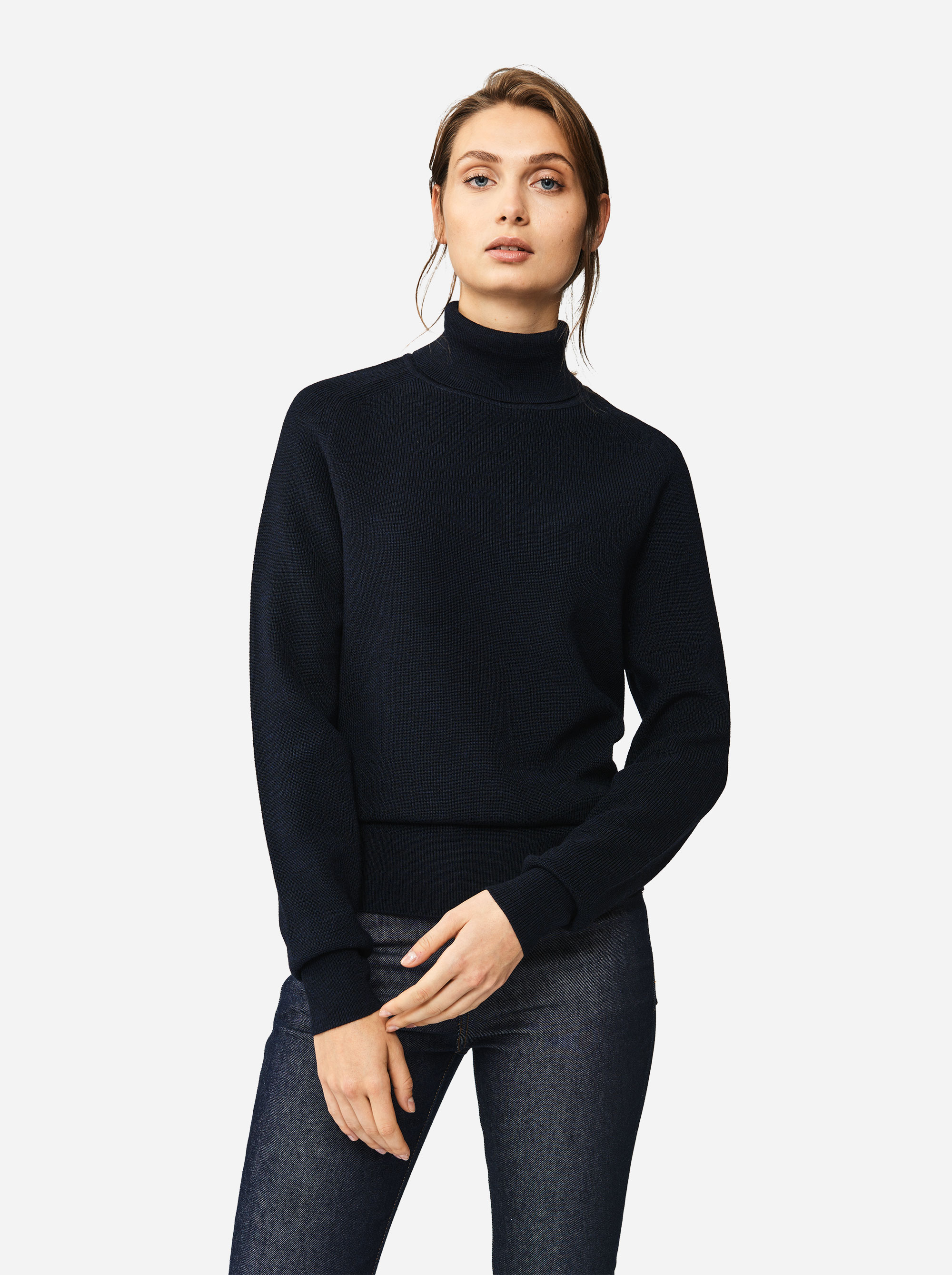 Teym - Turtleneck - The Merino Sweater - Men - Blue - 4