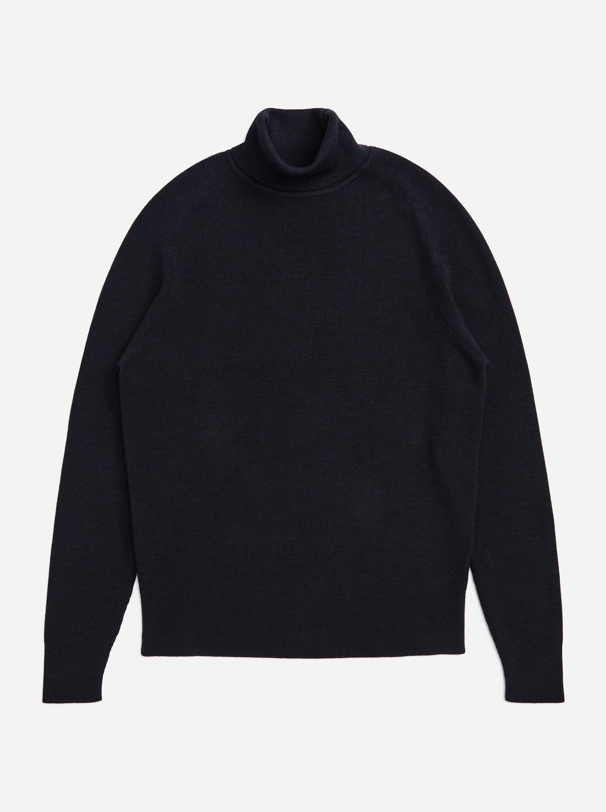 Teym - Turtleneck - The Merino Sweater - Men - Blue - 5