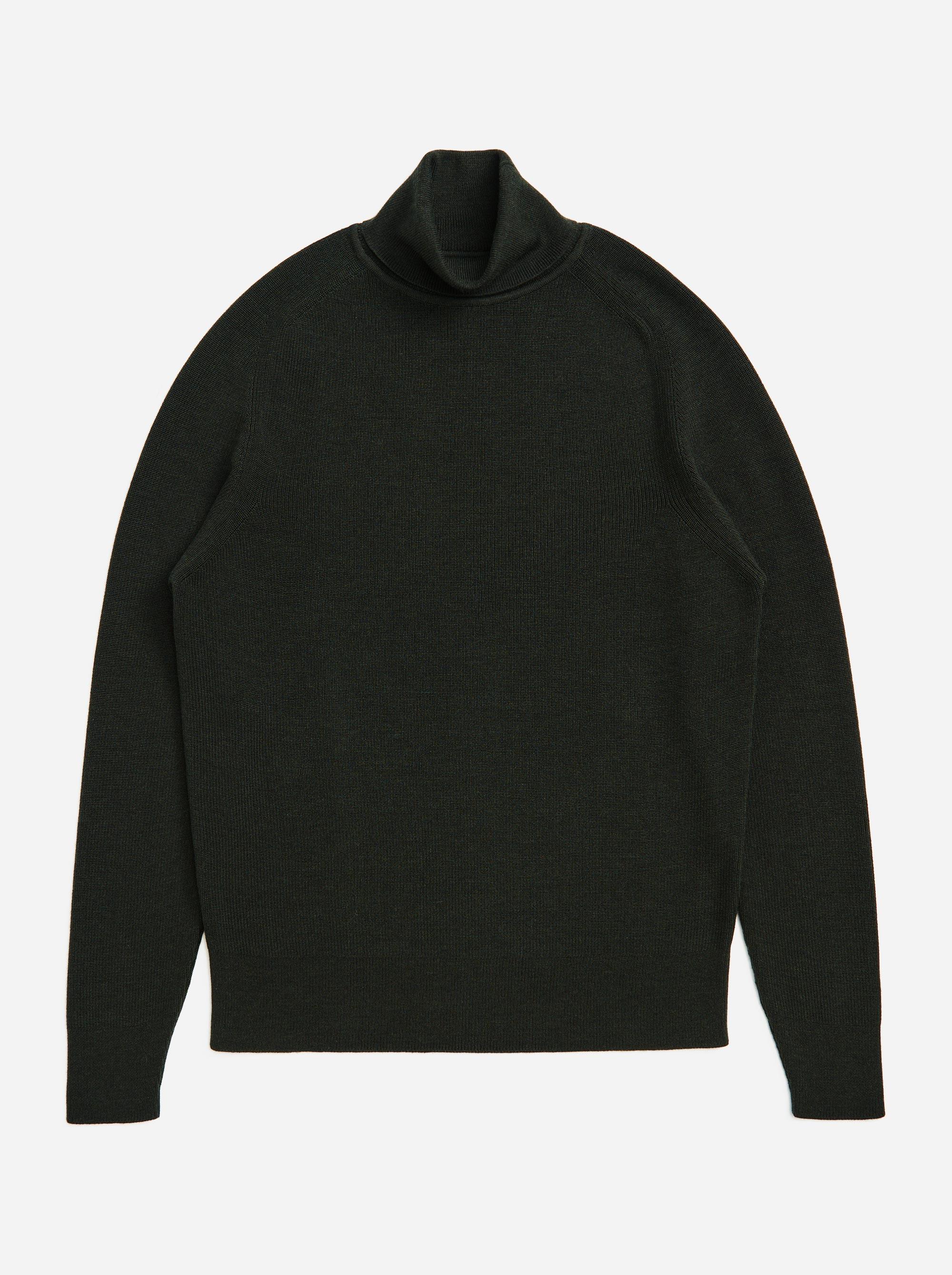 Teym - Turtleneck - The Merino Sweater - Men - Green - 5
