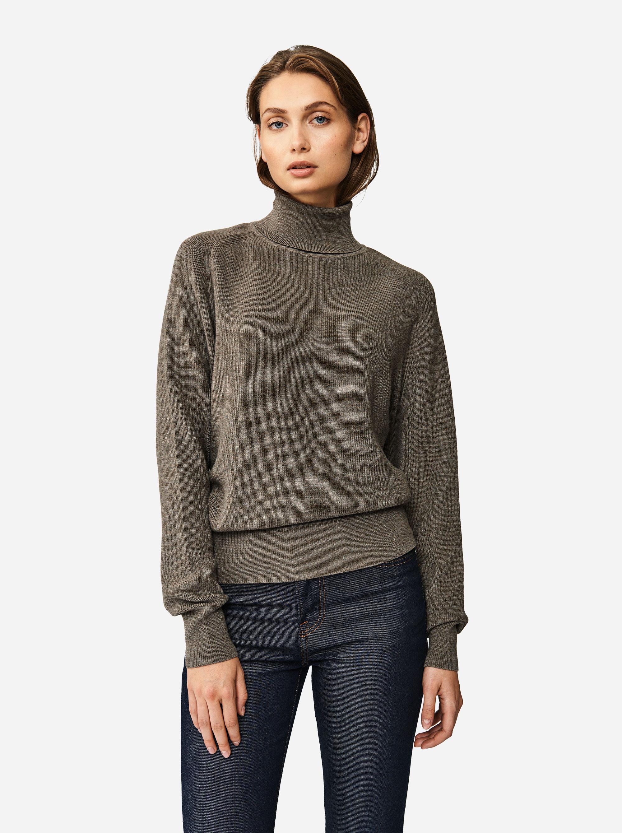 Teym - Turtleneck - The Merino Sweater - Men - Grey - 1