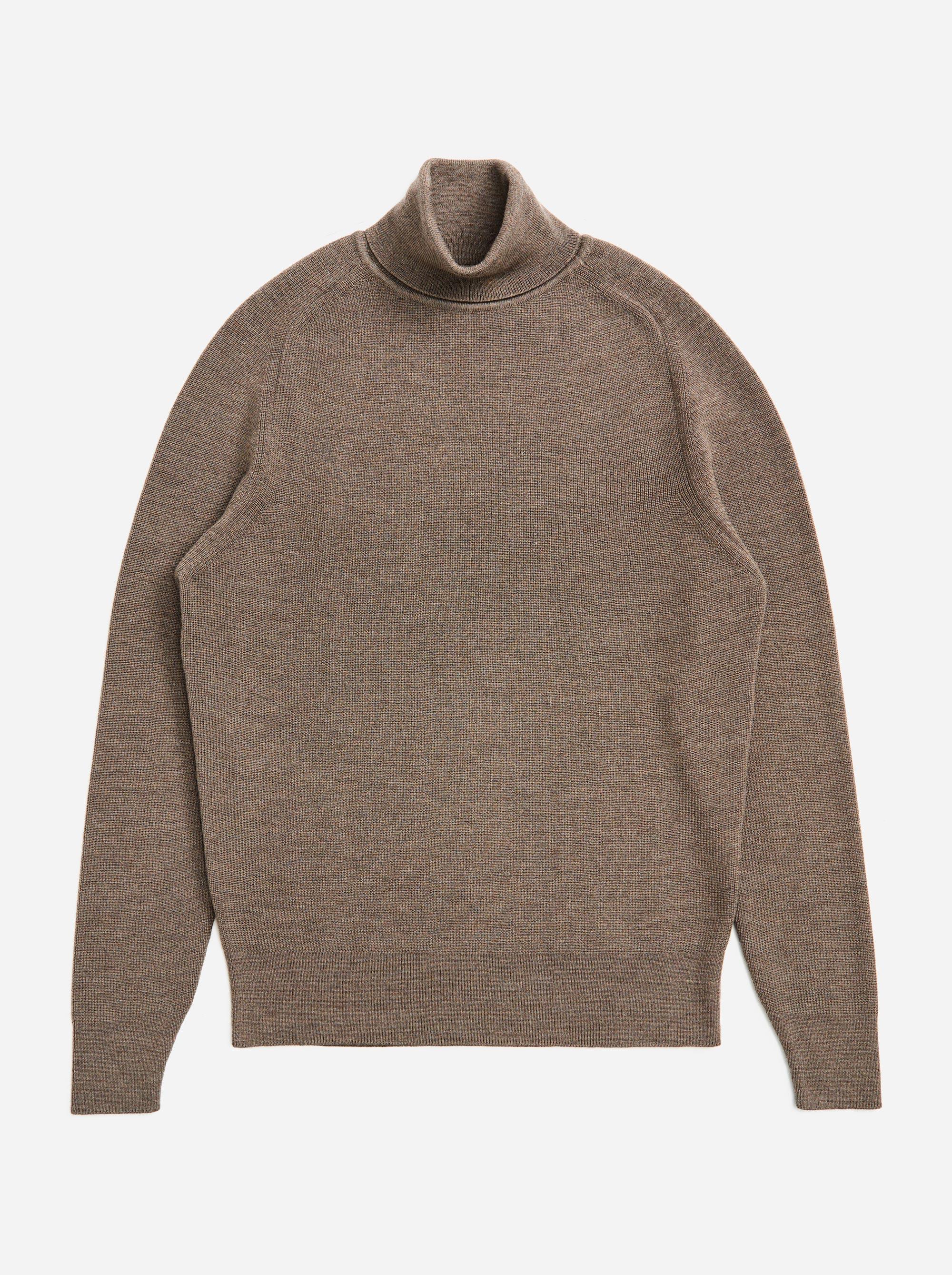 Teym - Turtleneck - The Merino Sweater - Men - Grey - 4