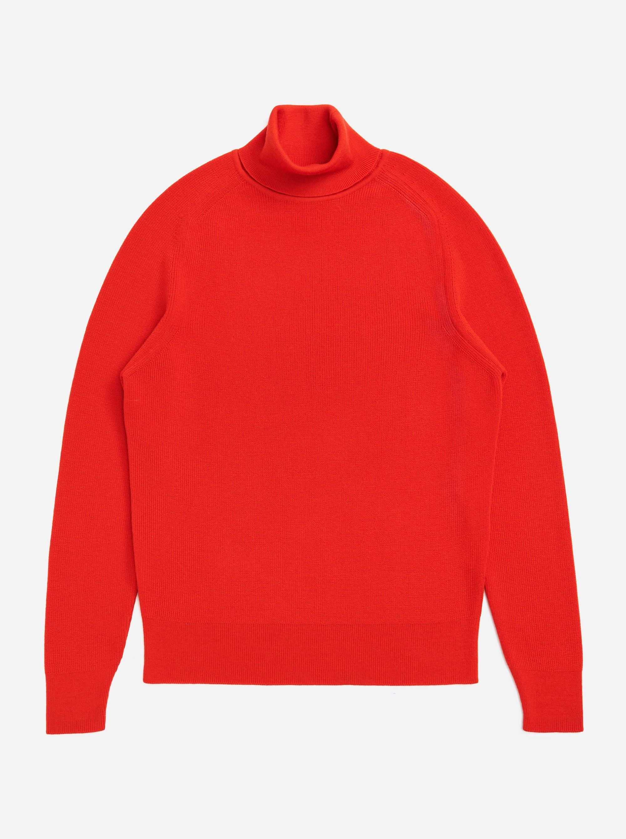 Teym - Turtleneck - The Merino Sweater - Men - Red - 4