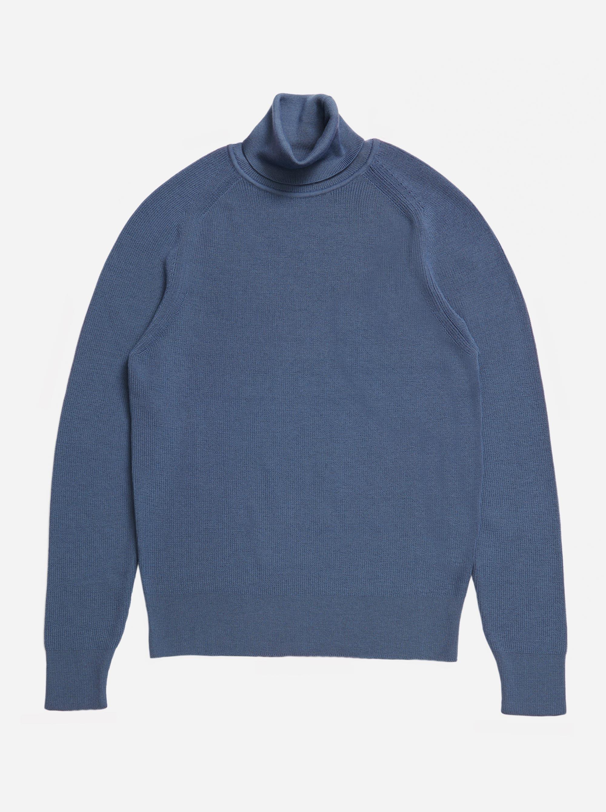 Teym - Turtleneck - The Merino Sweater - Men - Sky Blue - 4