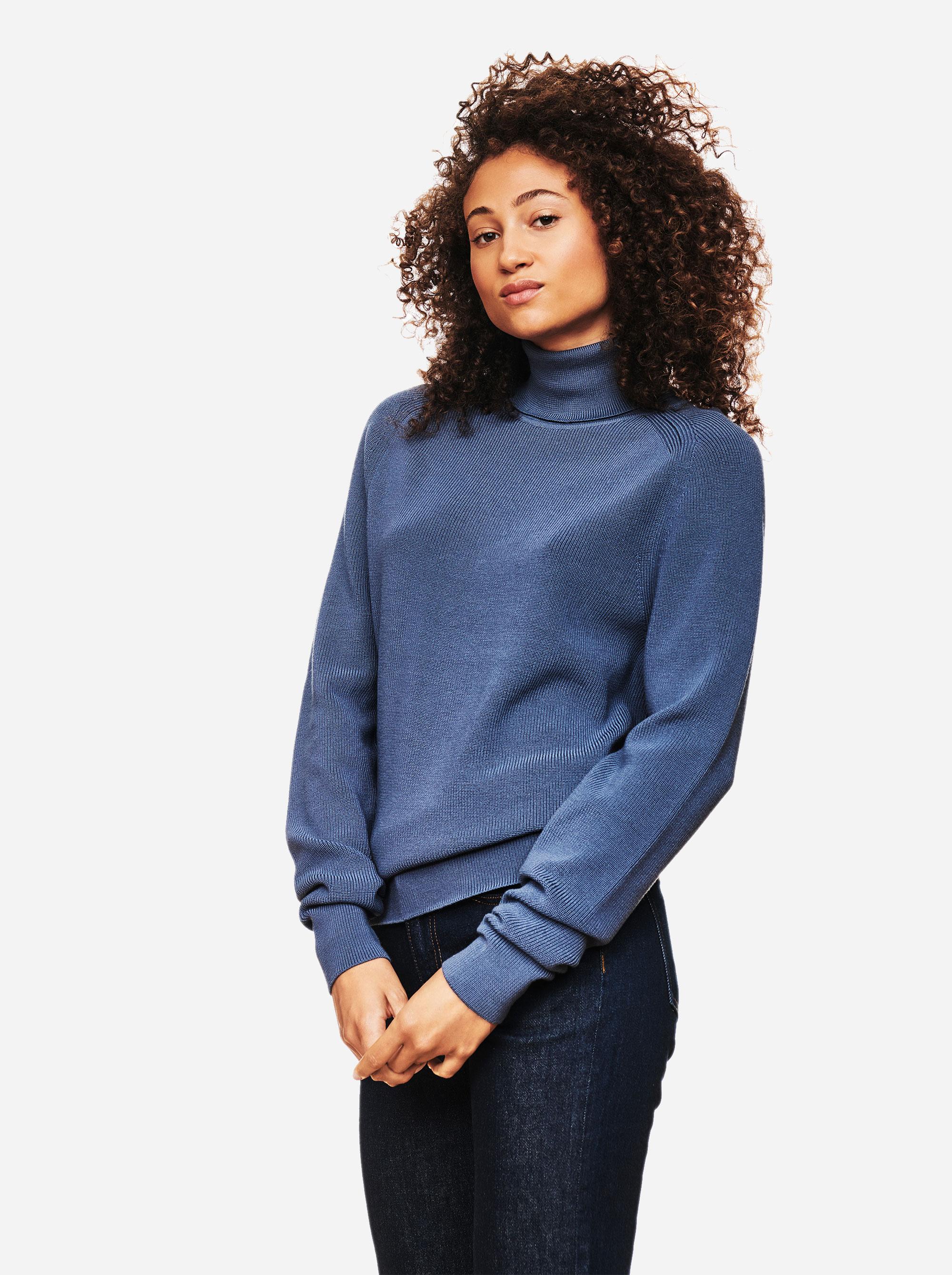 Teym - Turtleneck - The Merino Sweater - Men - Sky blue - 1