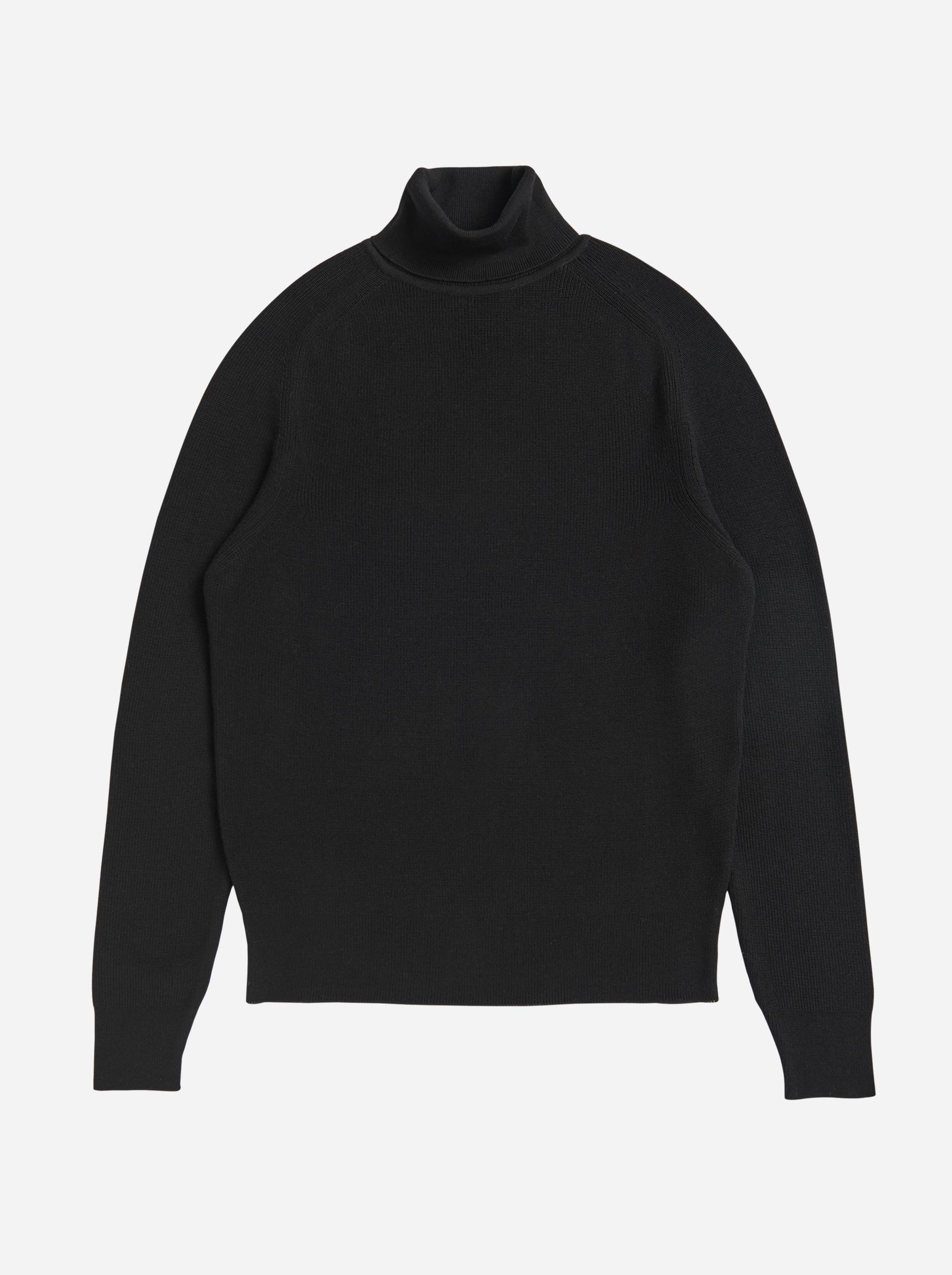 Teym - Turtleneck - The Merino Sweater - Women - Black - 4