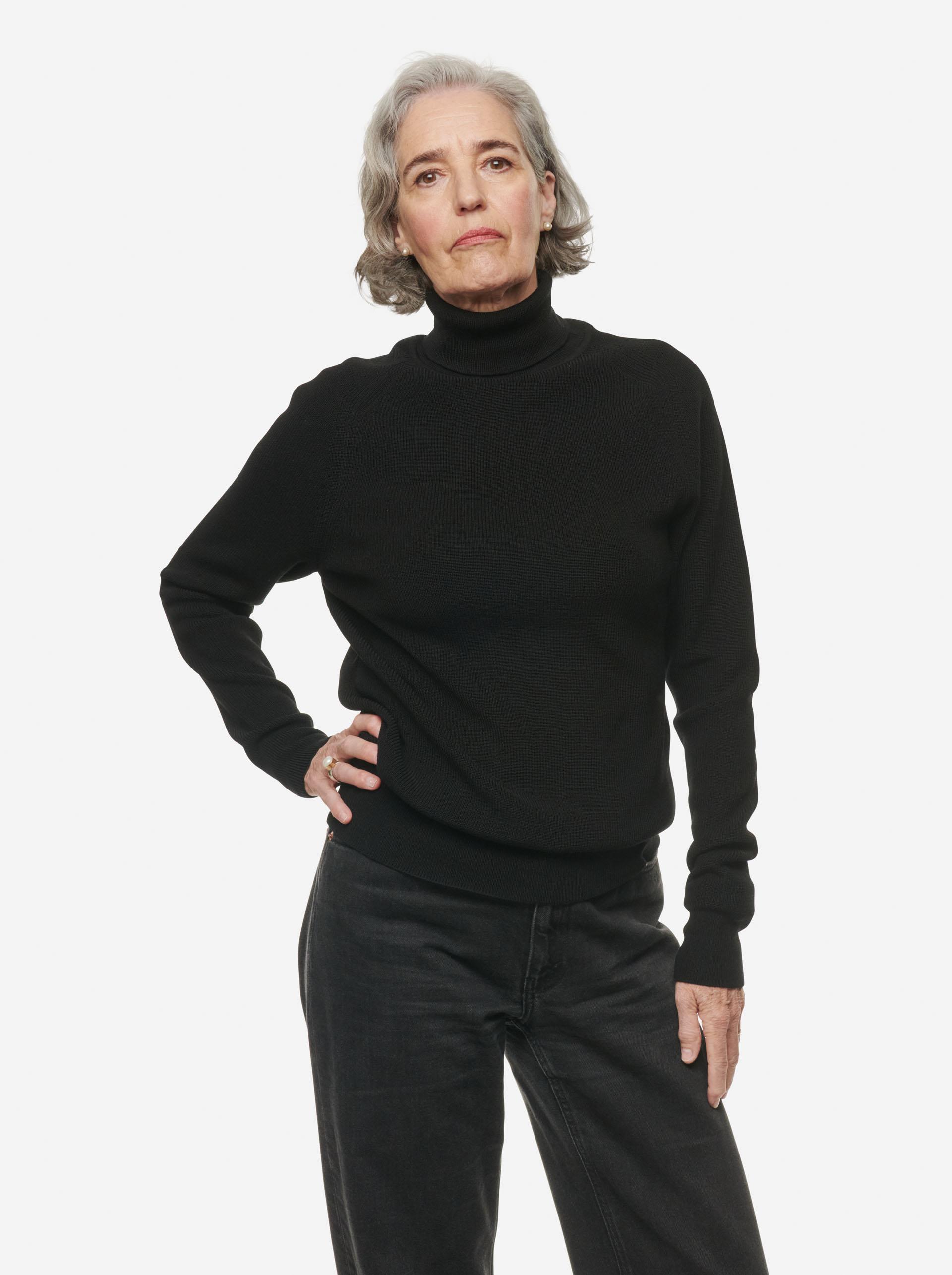 Teym - Turtleneck - The Merino Sweater - Women - Black - 5