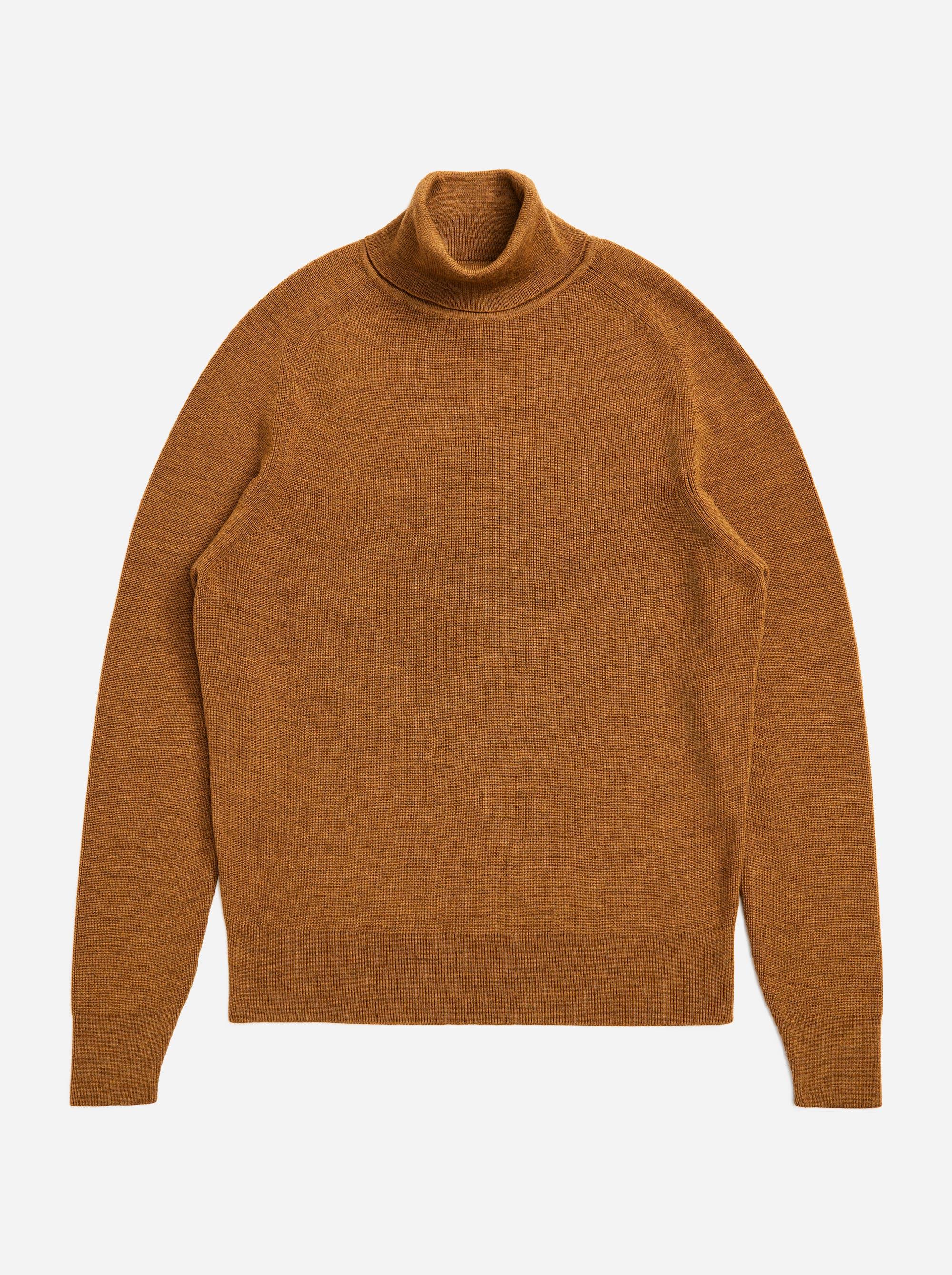 Teym - Turtleneck - The Merino Sweater - Women - Camel - 4