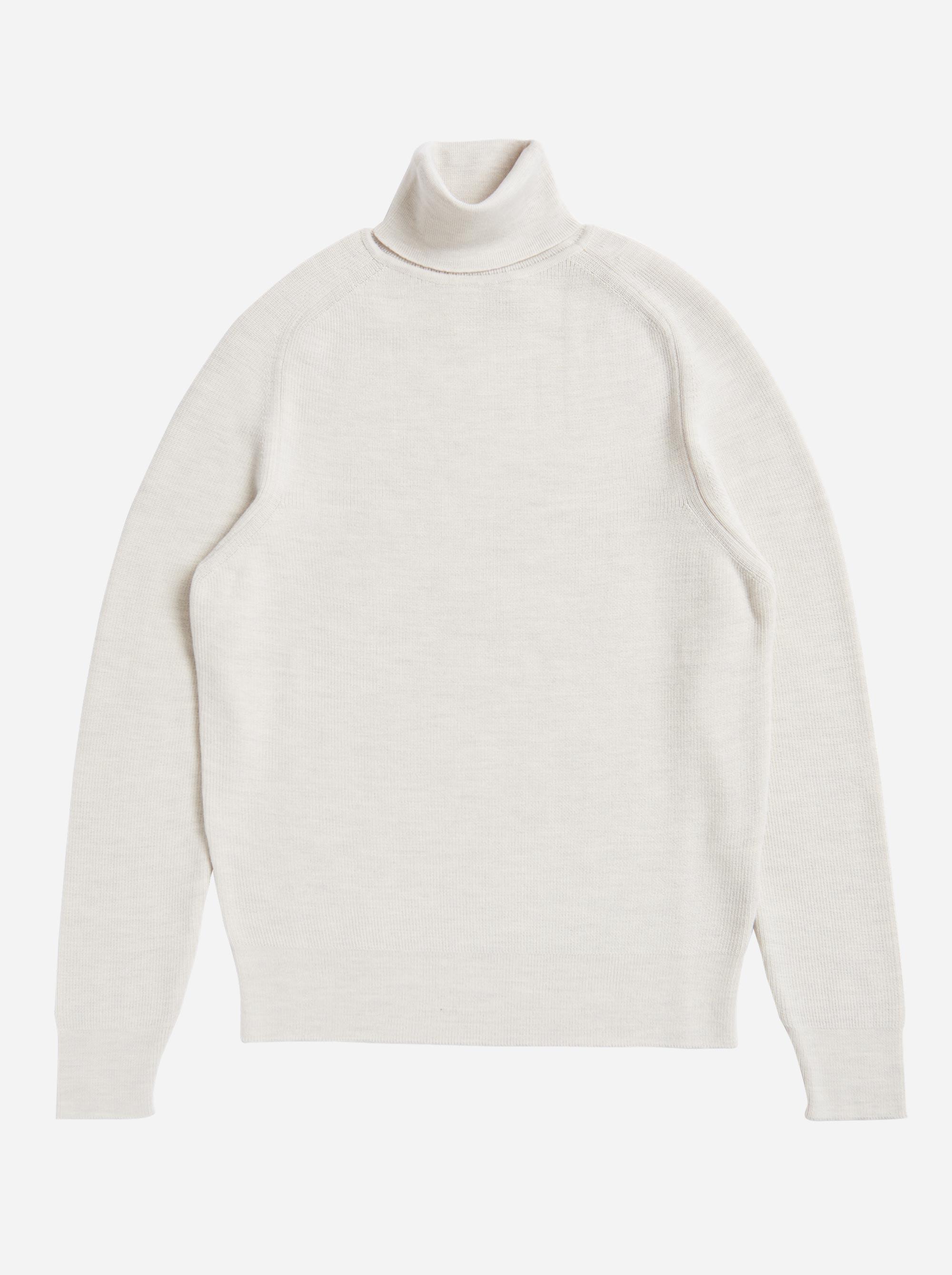 Teym - Turtleneck - The Merino Sweater - Women - White - 7