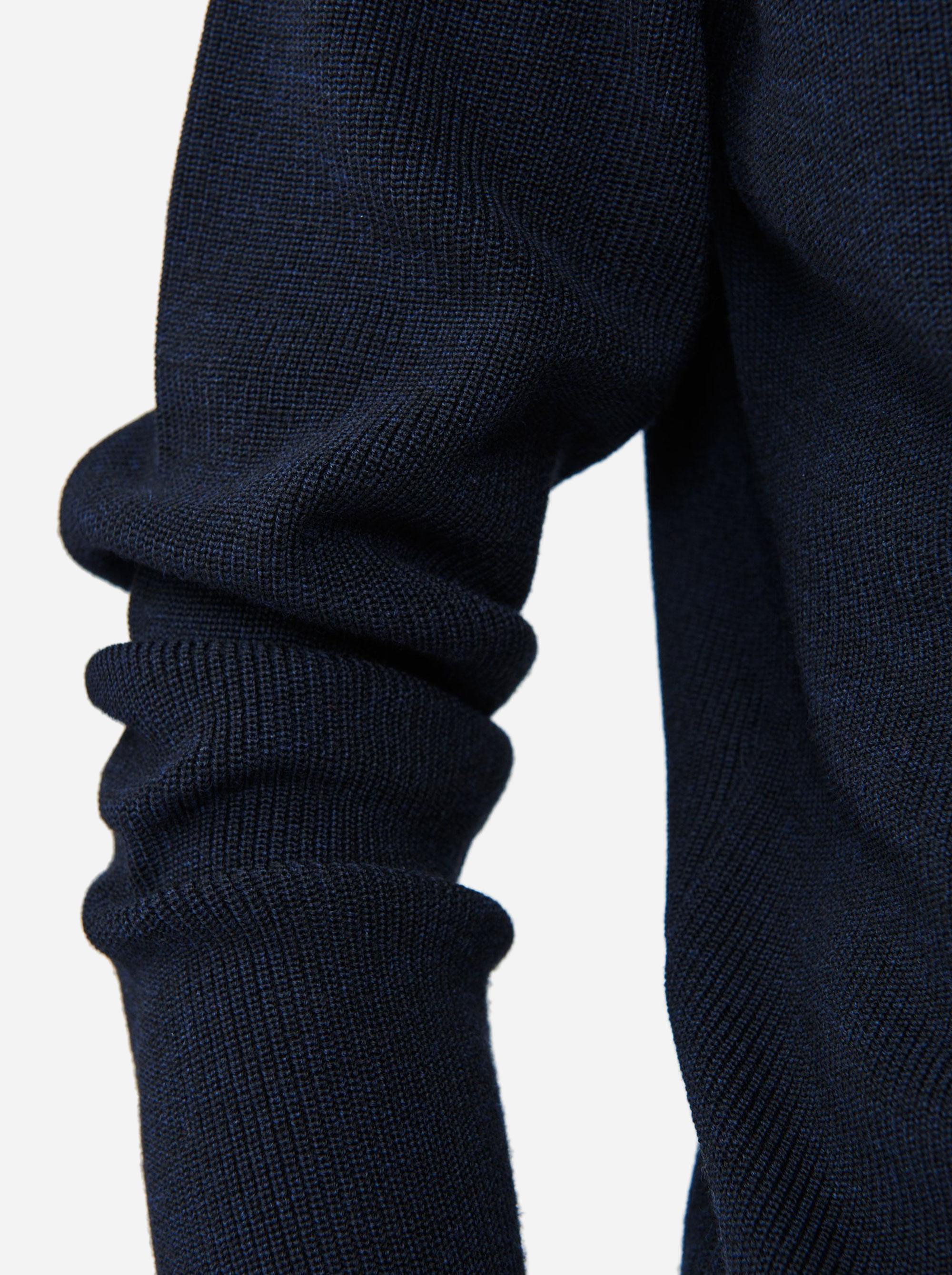 Teym - V-Neck - The Merino Sweater - Men - Blue - 5