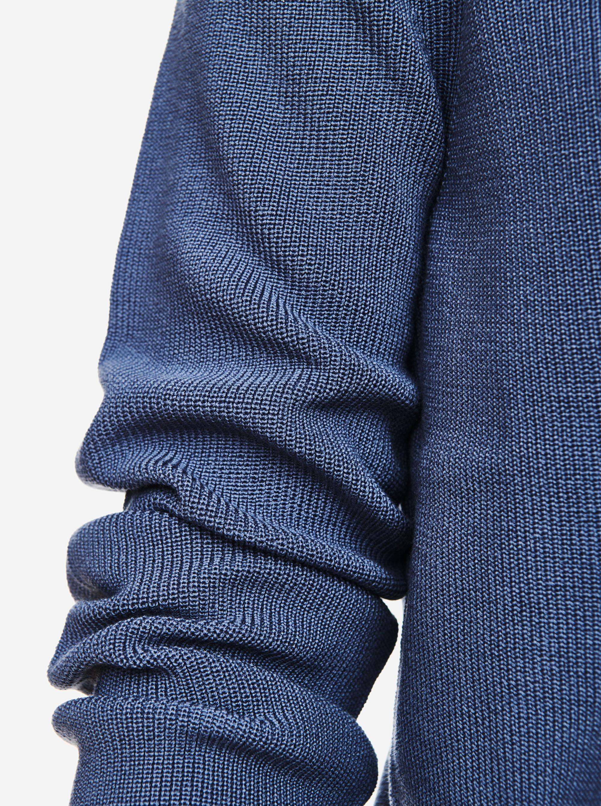 Teym - V-Neck - The Merino Sweater - Men - Sky blue - 2