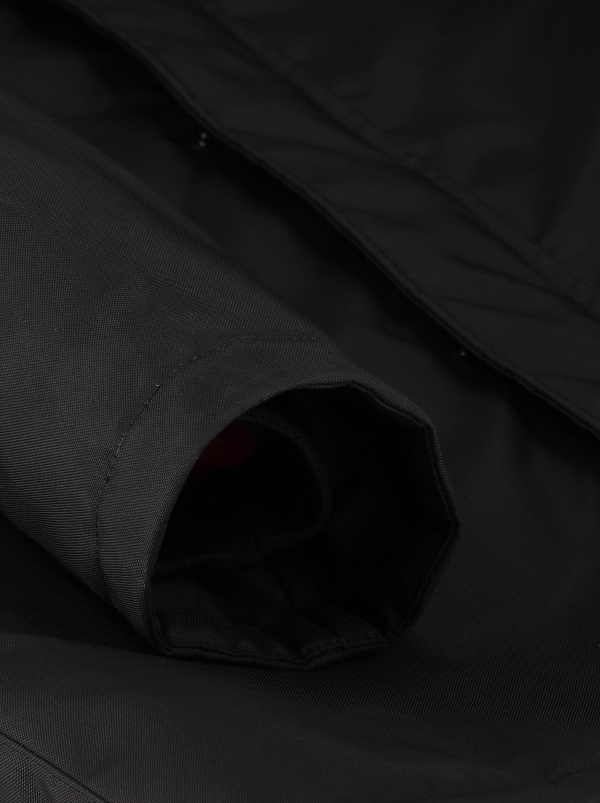 Teym_ParkaMatte_Black Orange_Men_detail3