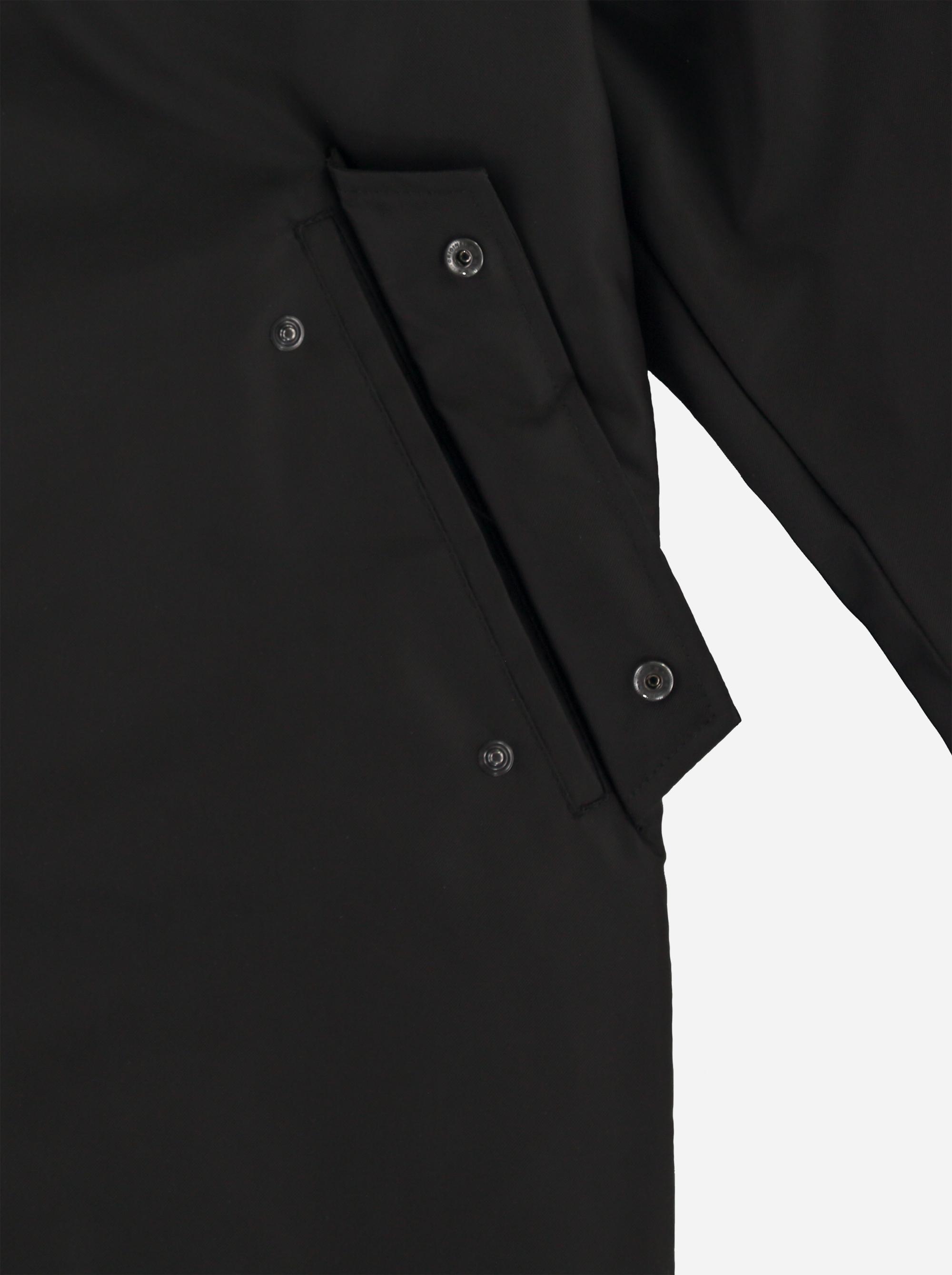 Teym_ParkaMatte_Black Orange_Men_detail5