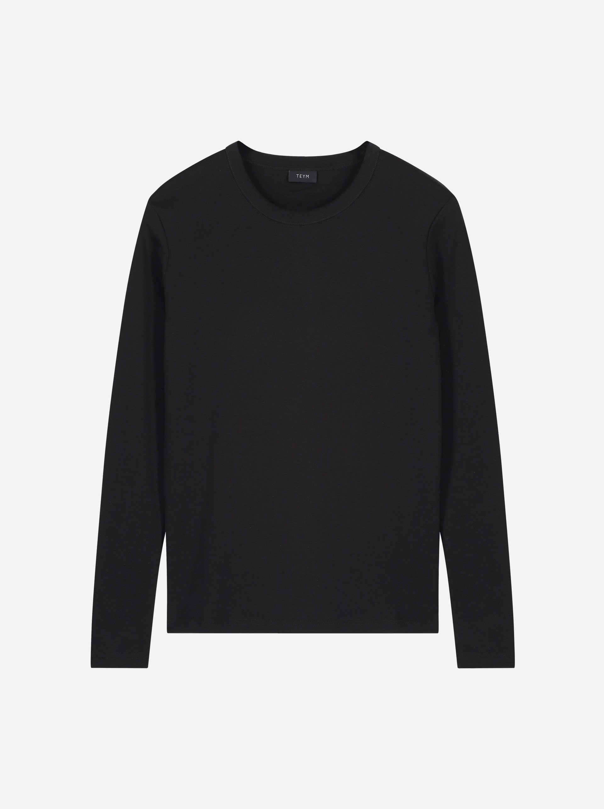 Teym - The-T-Shirt - Longsleeve - Women - Black - 5